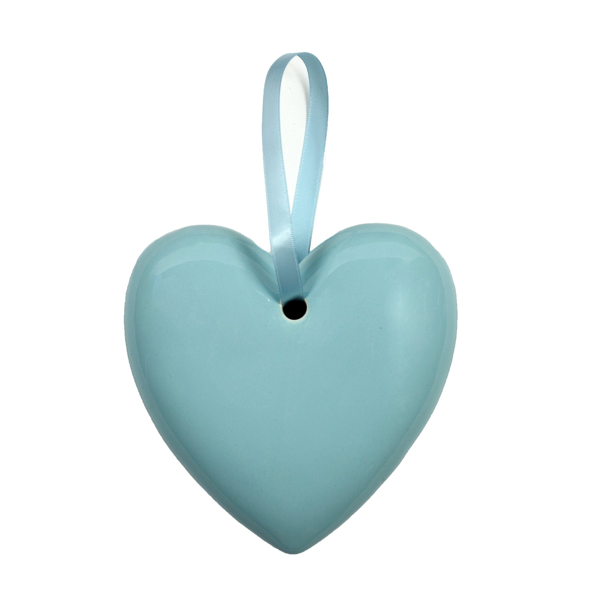 Rose and Ellis Clarendon Collection Blue Hanging Heart
