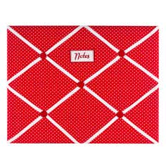 Rose and Ellis Allexton Collection Red Memo Board