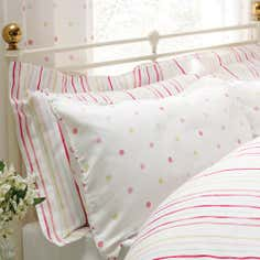 Rose and Ellis Cotes Collection Oxford Pillowcase