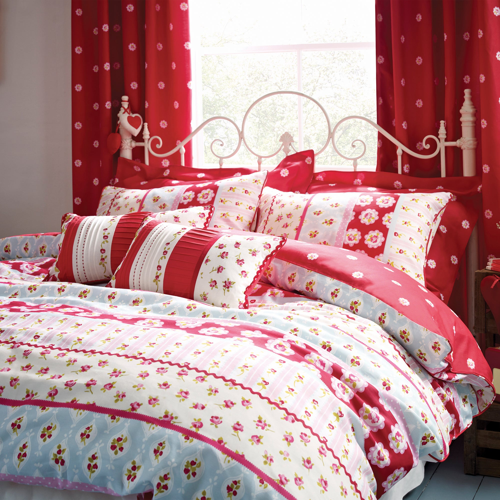 Rose and Ellis Allexton Collection Duvet Cover Set