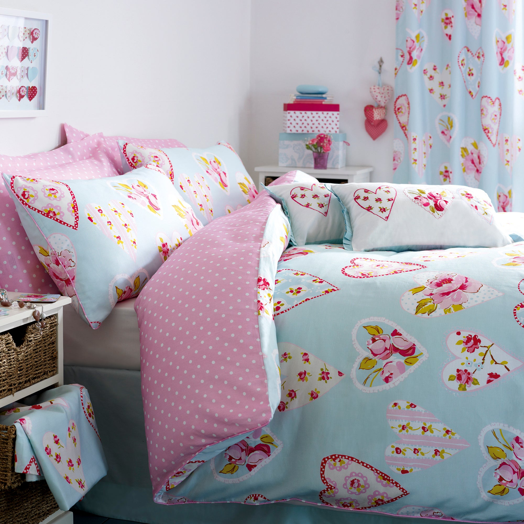 Rose and Ellis Appleby Collection Duvet Cover Set