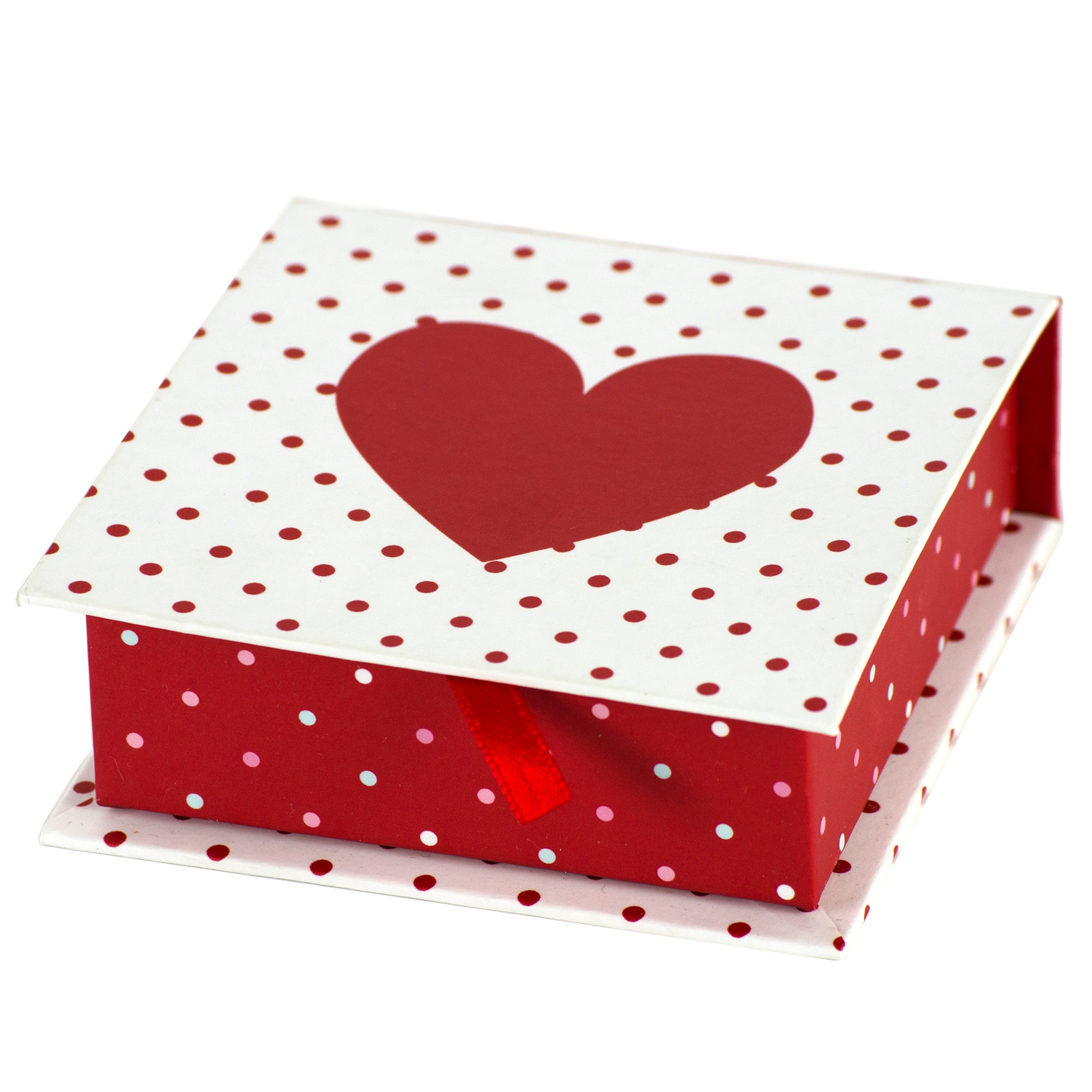 Rose and Ellis Allexton Collection Heart Memo Box