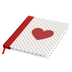 Rose and Ellis Allexton Collection Heart Notebook