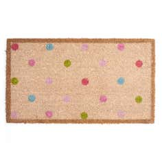 Rose and Ellis Cotes Collection Coir Doormat
