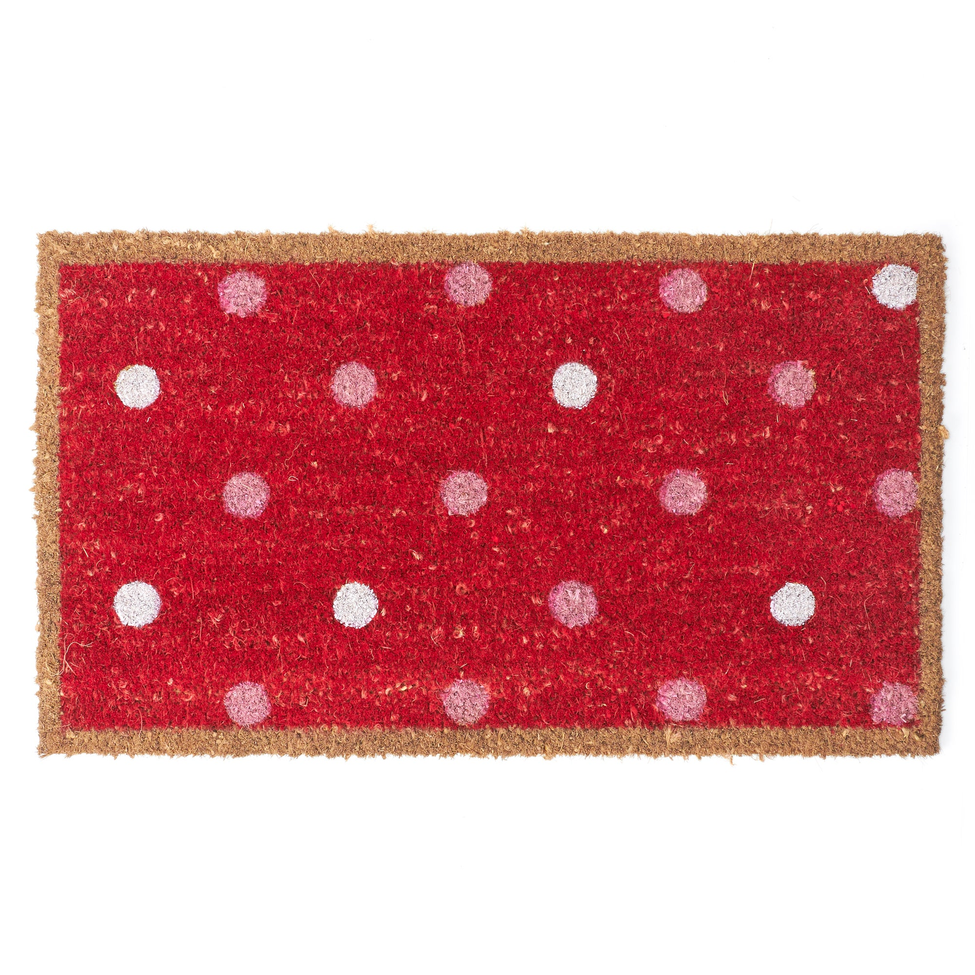 Rose and Ellis Oakley Collection Coir Doormat