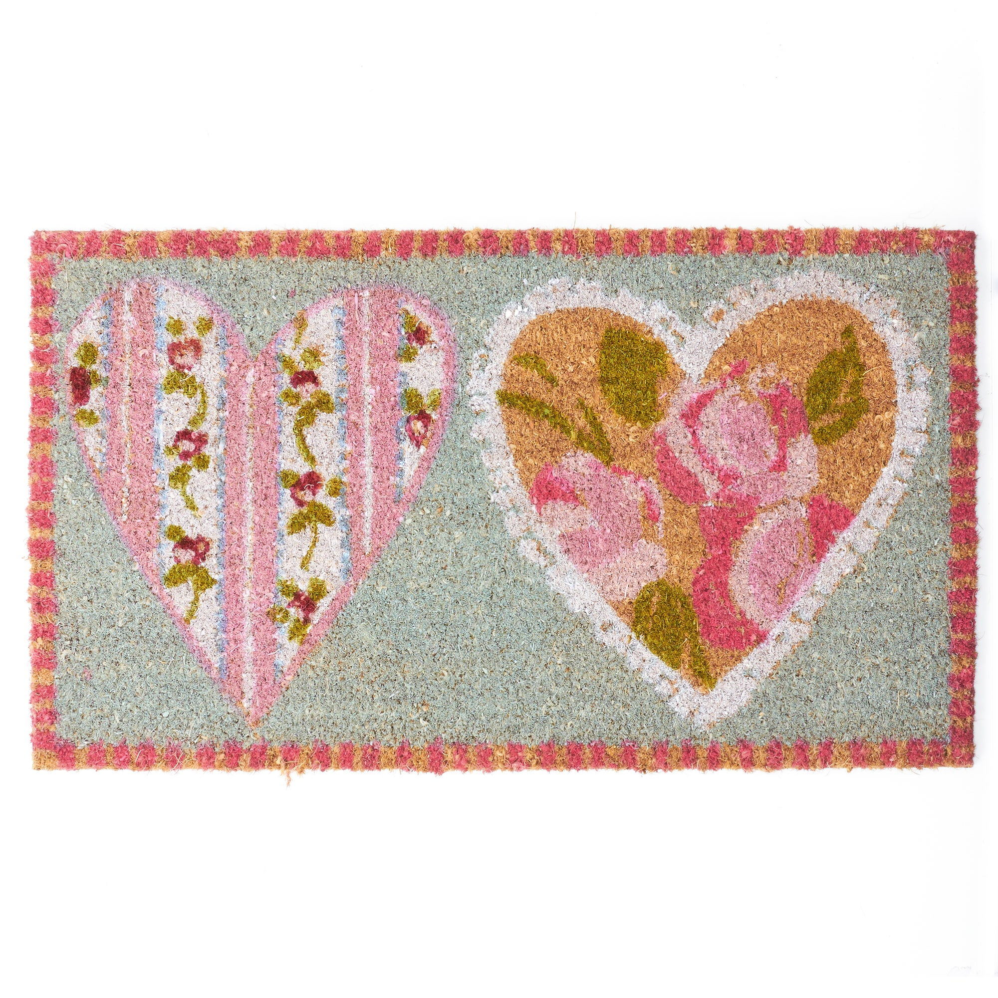 Rose and Ellis Appleby Collection Coir Doormat