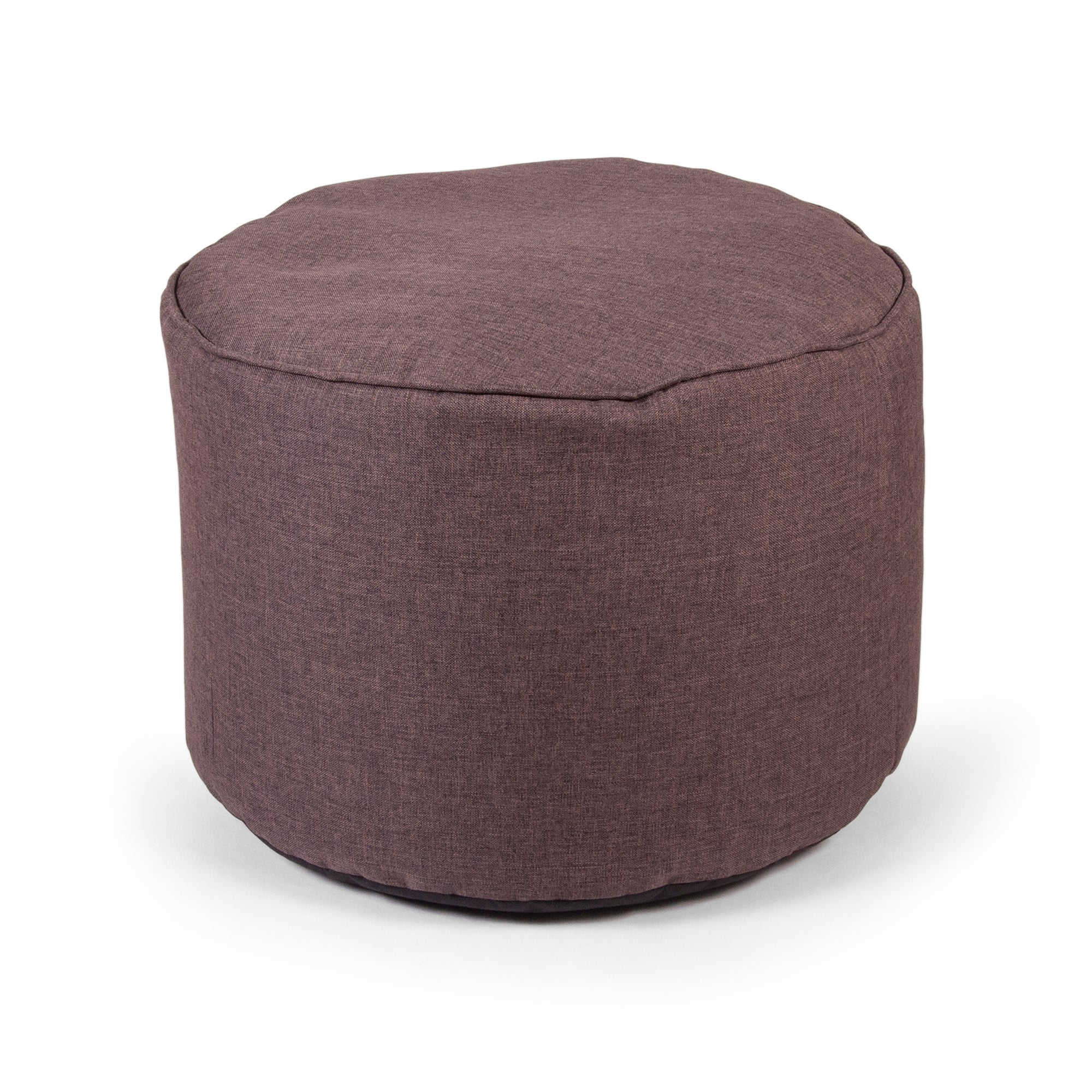 Chocolate Ashby Round Slab Beanbag