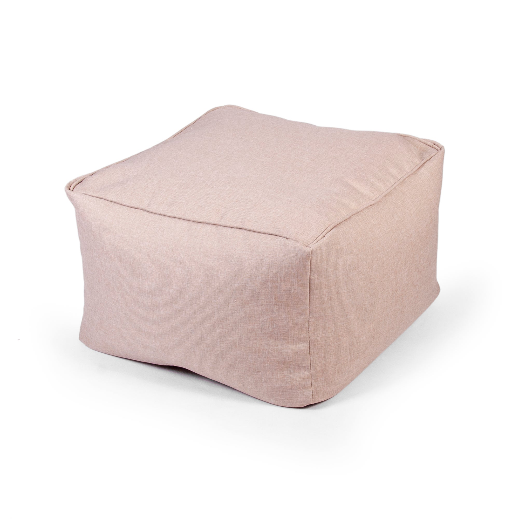 Beige Ashby Square Slab Bean Bag