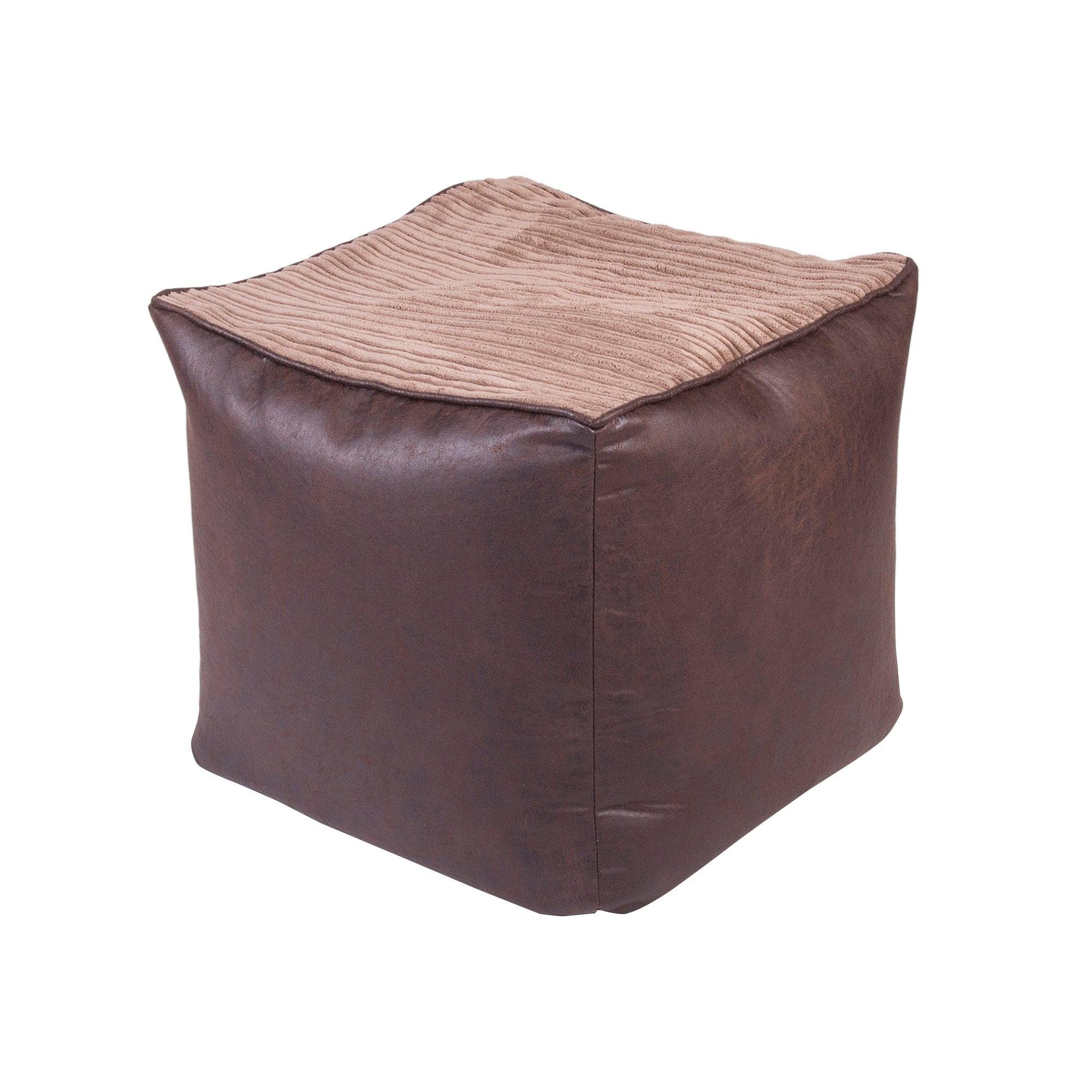 Chocolate Jumbo Cord Bean Cube