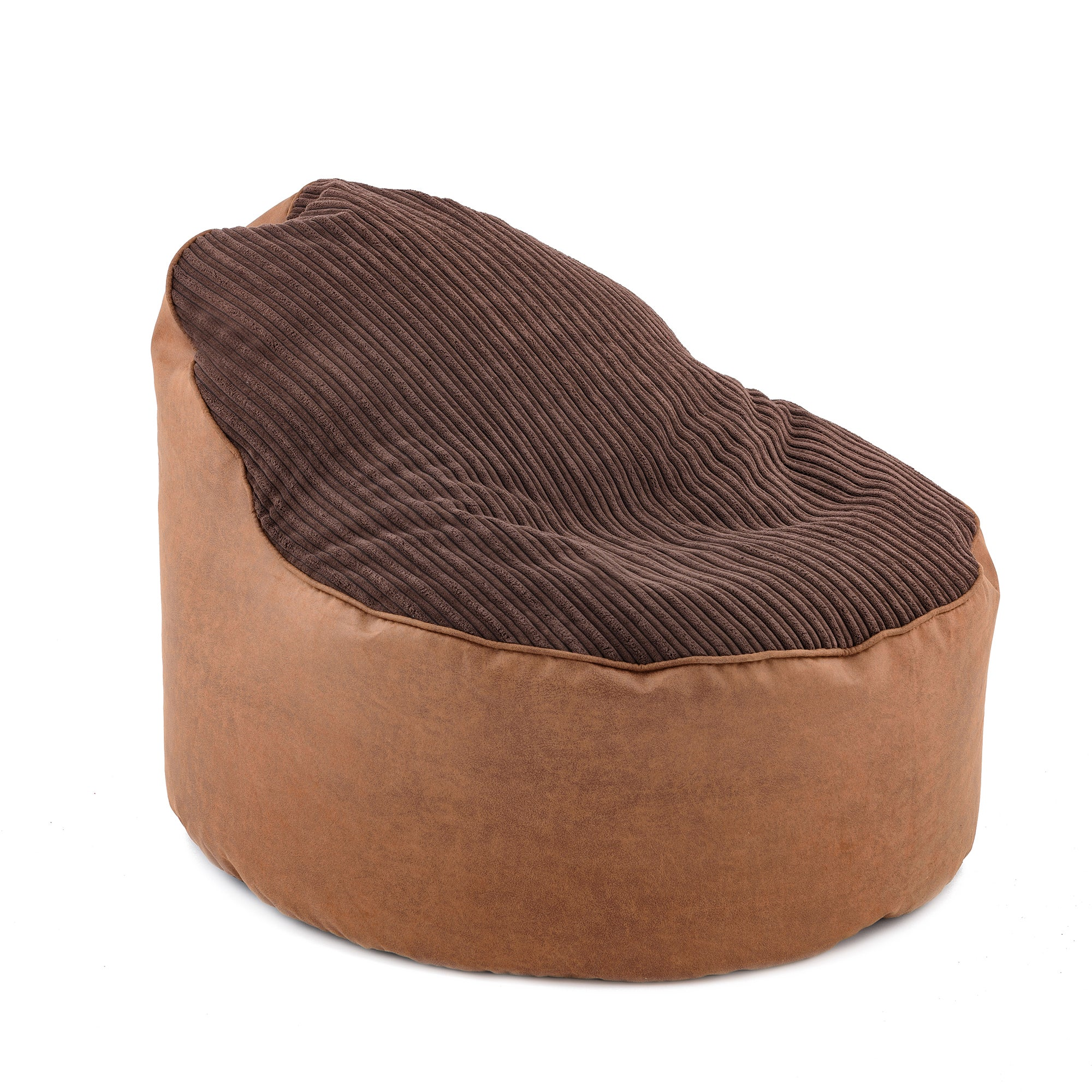 Chocolate Opal Jumbo Cord Bean Chair