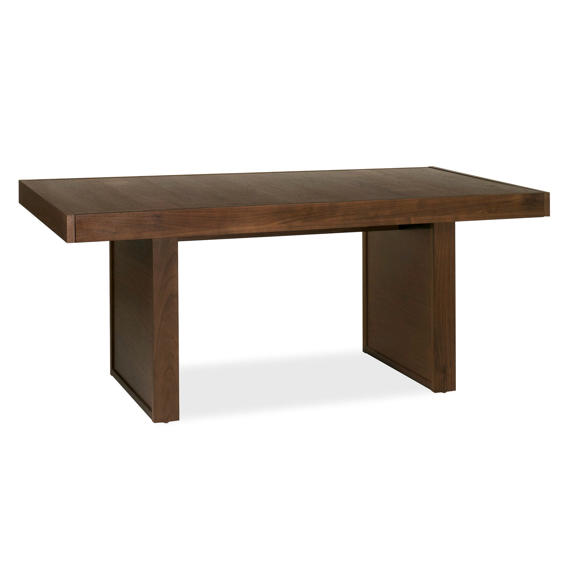 Wade Walnut Six Seater Panel Table