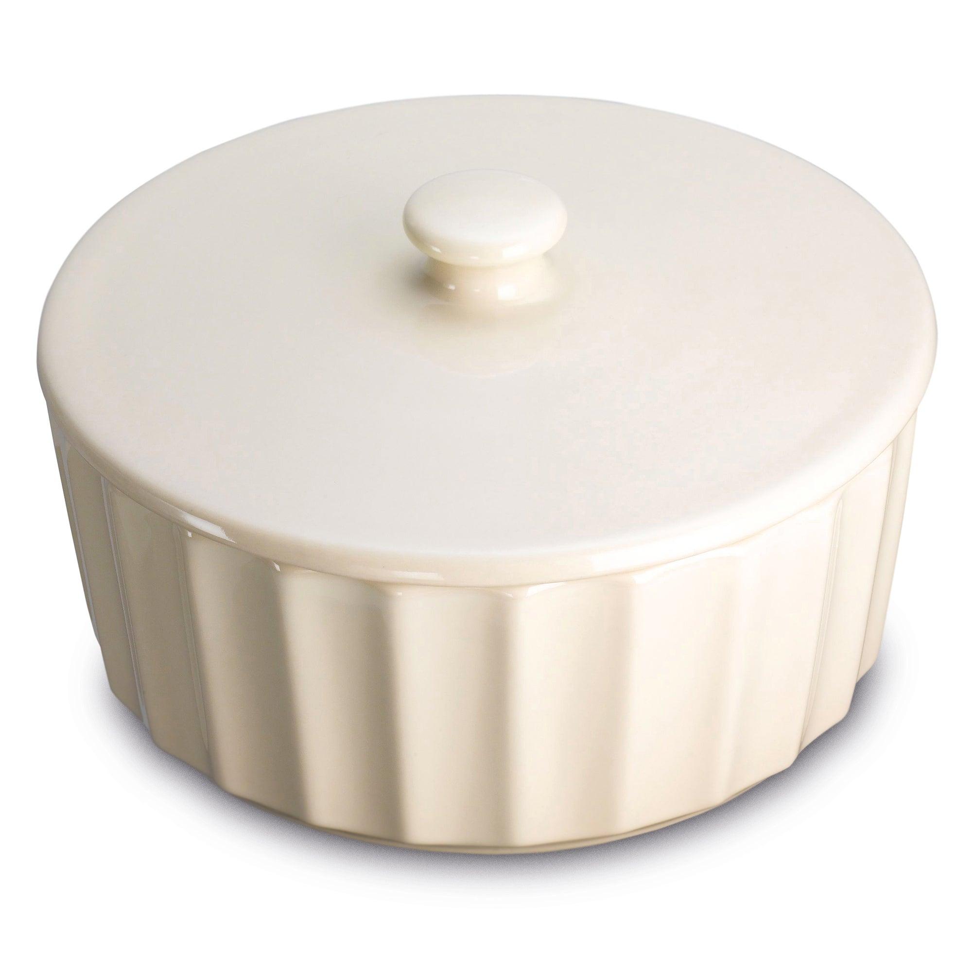Prestige Create Almond Round Casserole Dish