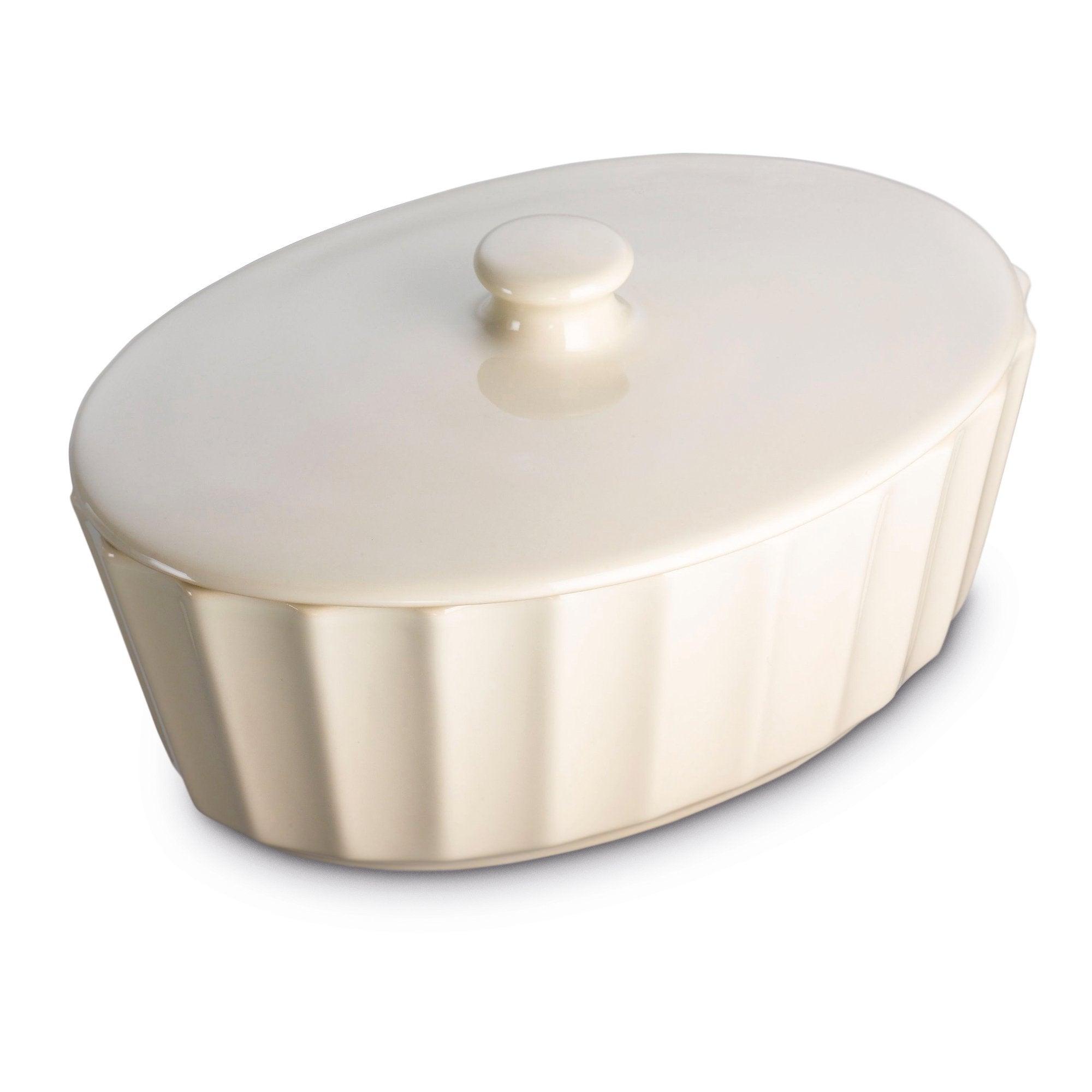 Prestige Create Almond Oval Casserole Dish