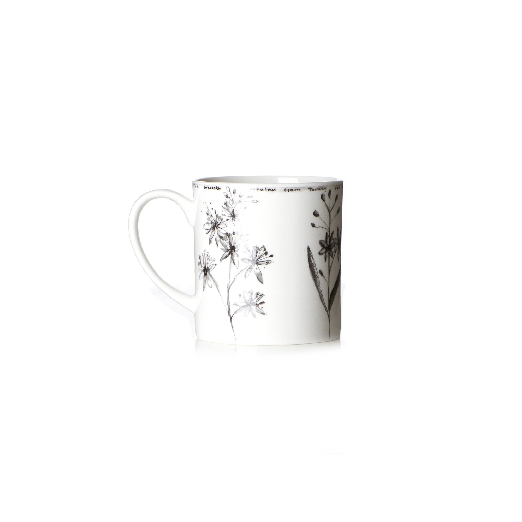 Botanical China Mug