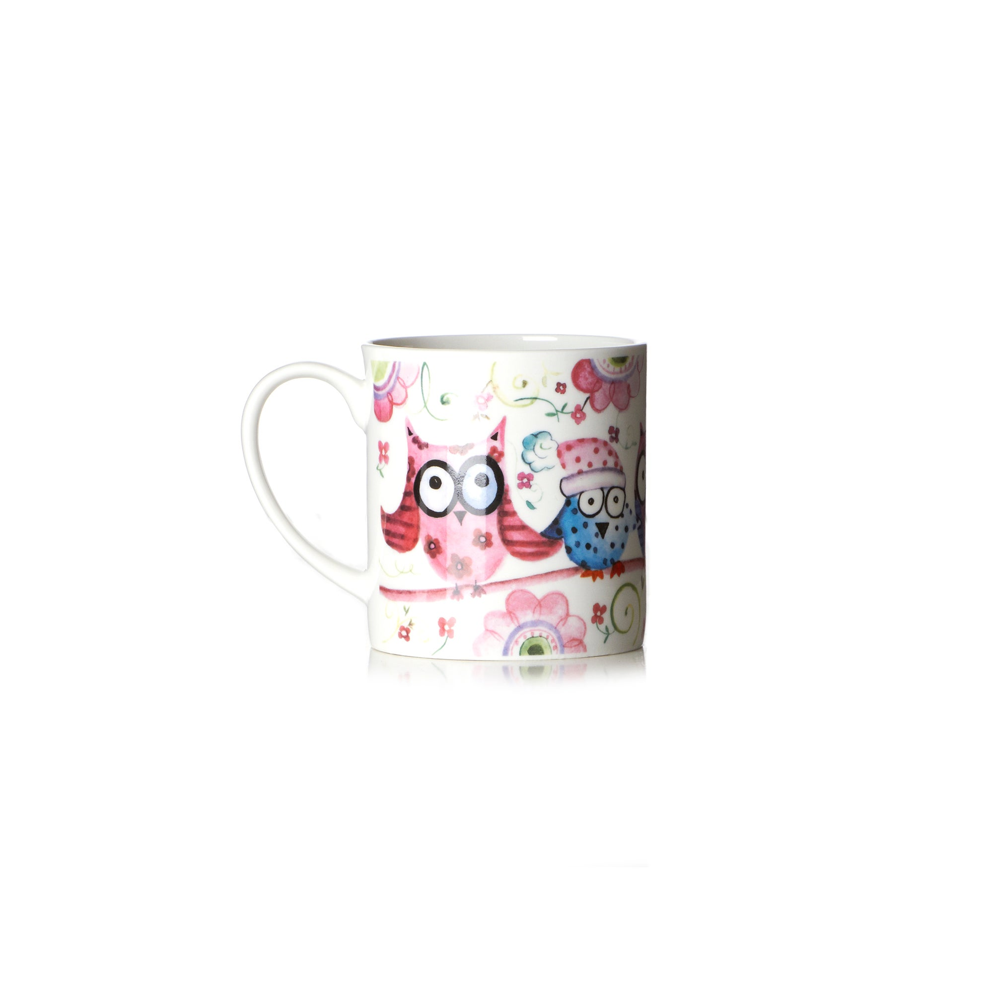 Buddy Owl With Laughter China Mug