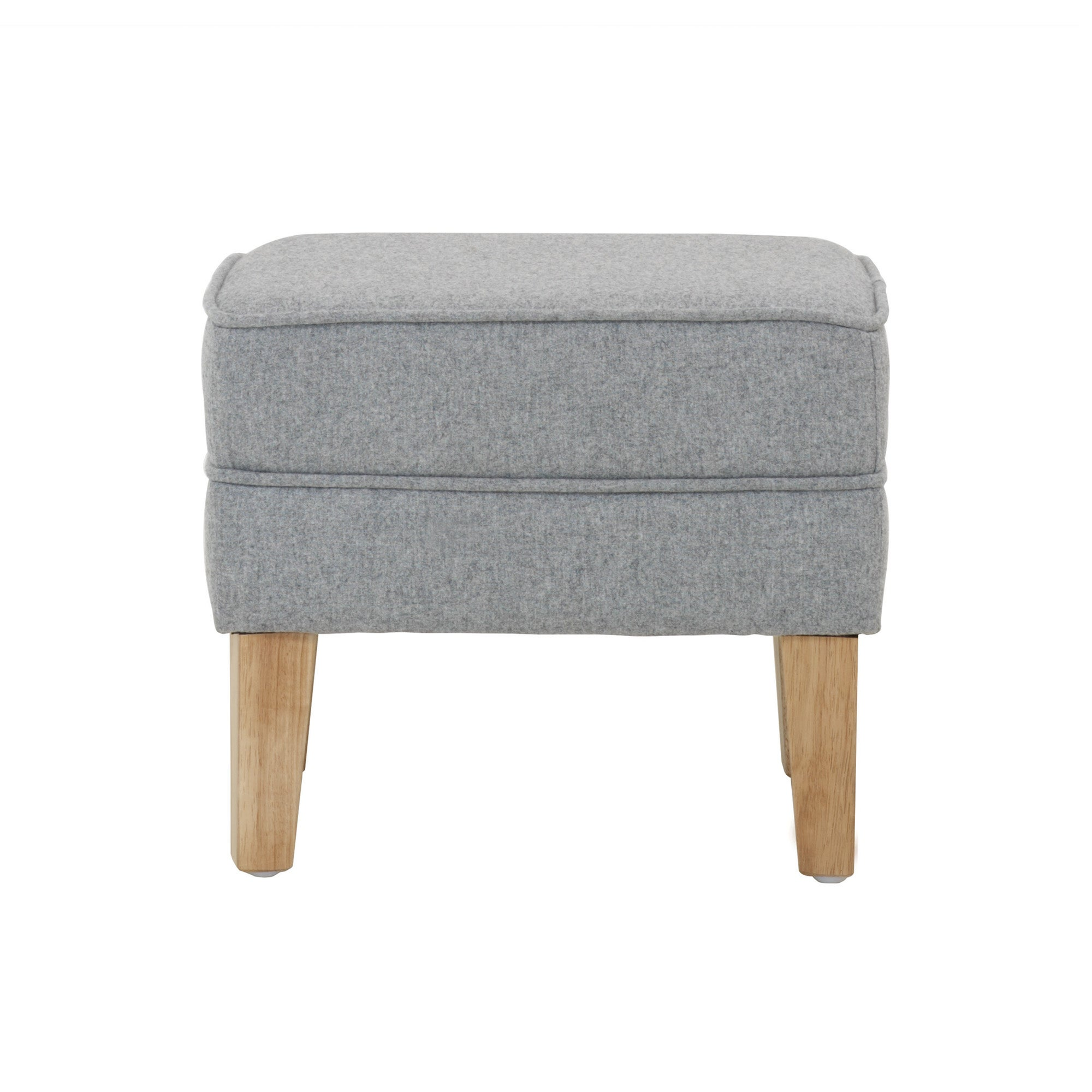 Charcoal Madrid Footstool
