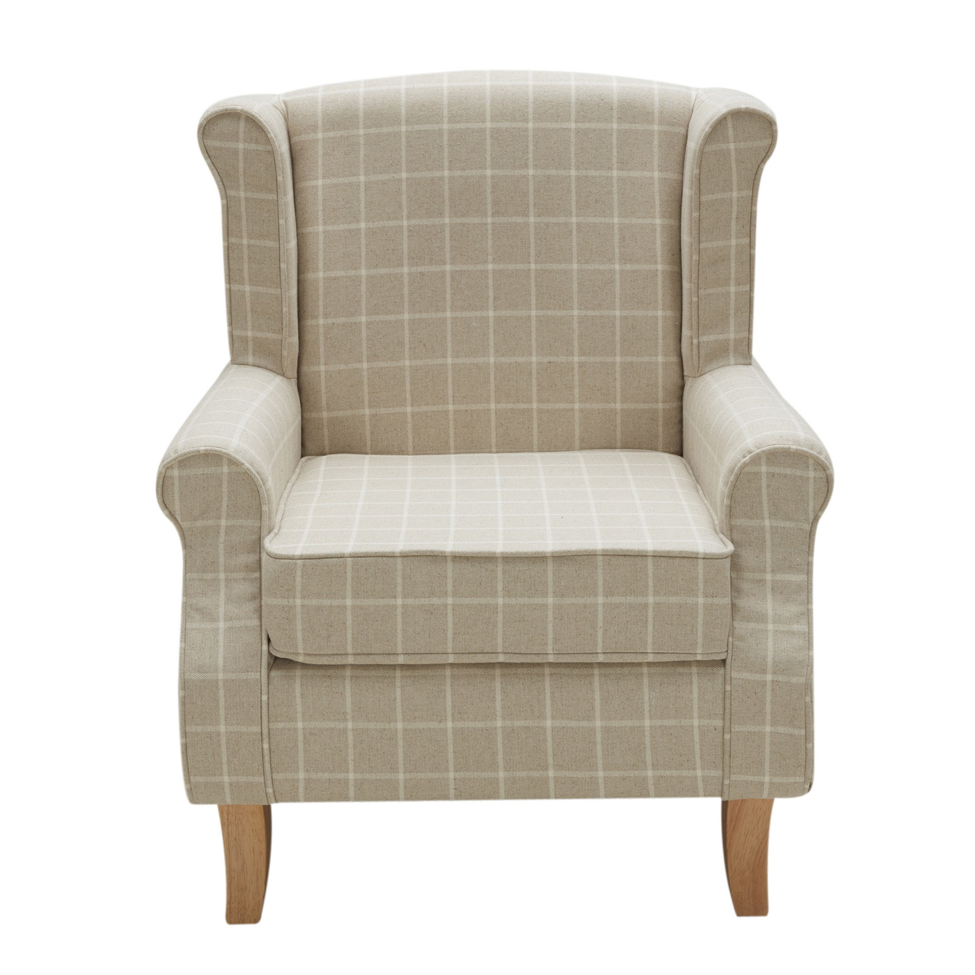 Main Deskpdpmain 404 Noimagedefault Natural Check Edinburgh Wingback Chair