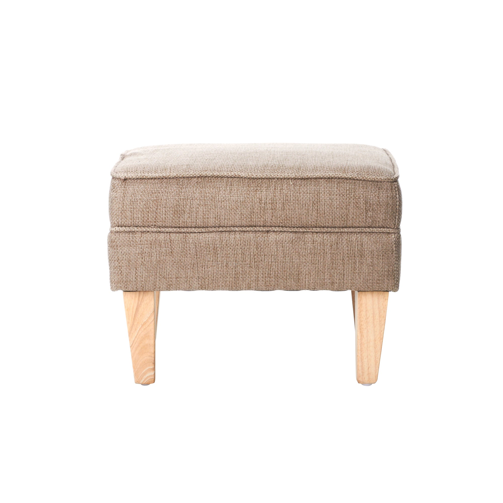 Oatmeal Edinburgh Footstool