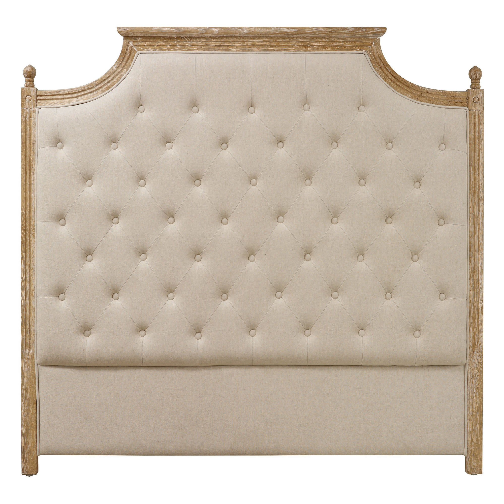 Ivory Camille Headboard