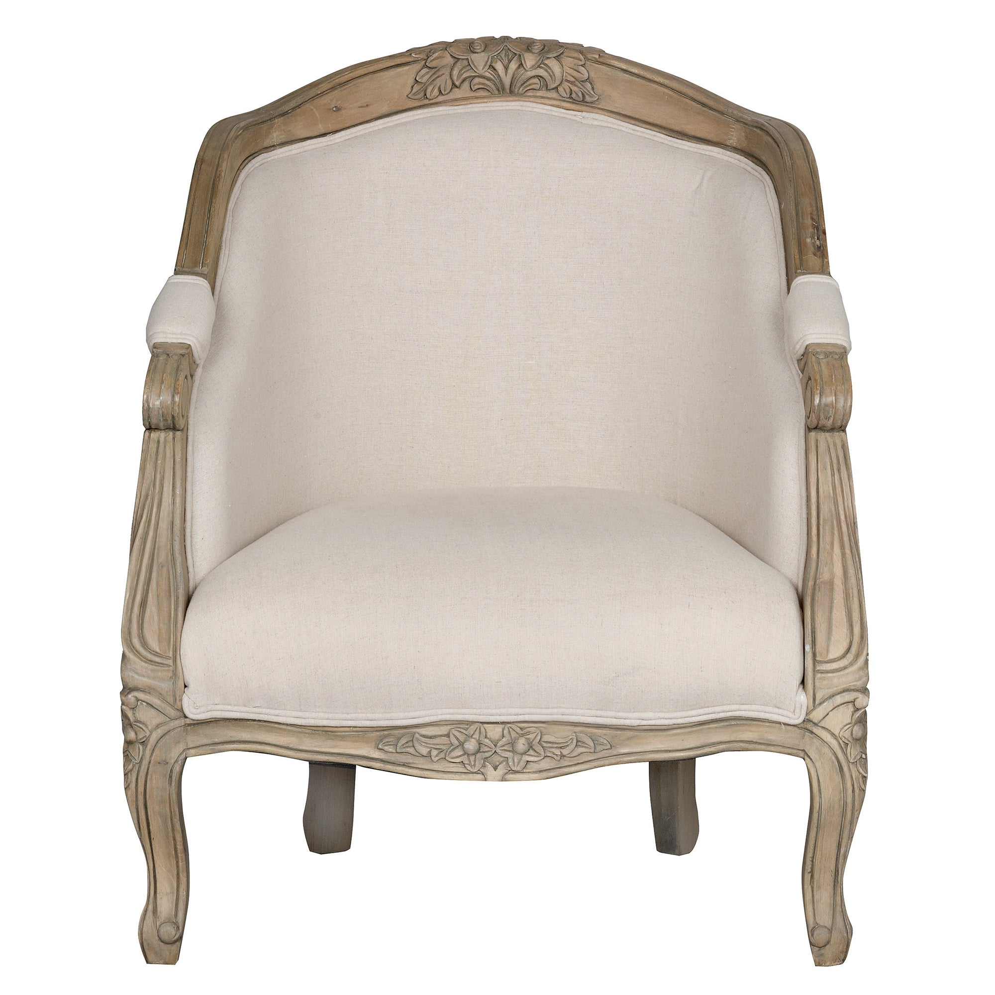 Cream Juliette Grand Armchair