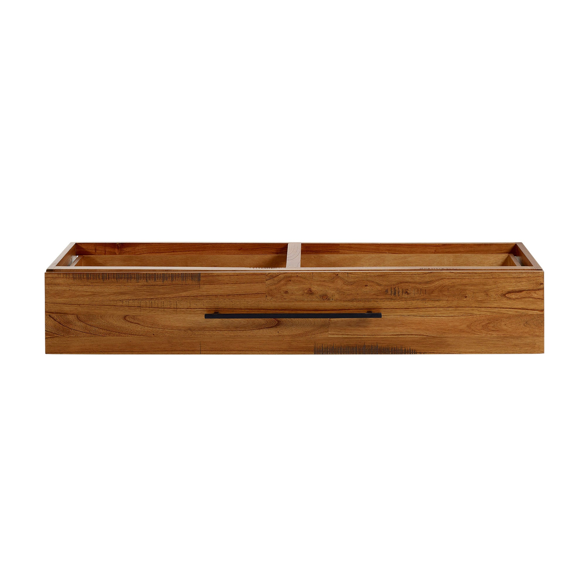 Columbia Acacia Dark Wood Storage Box
