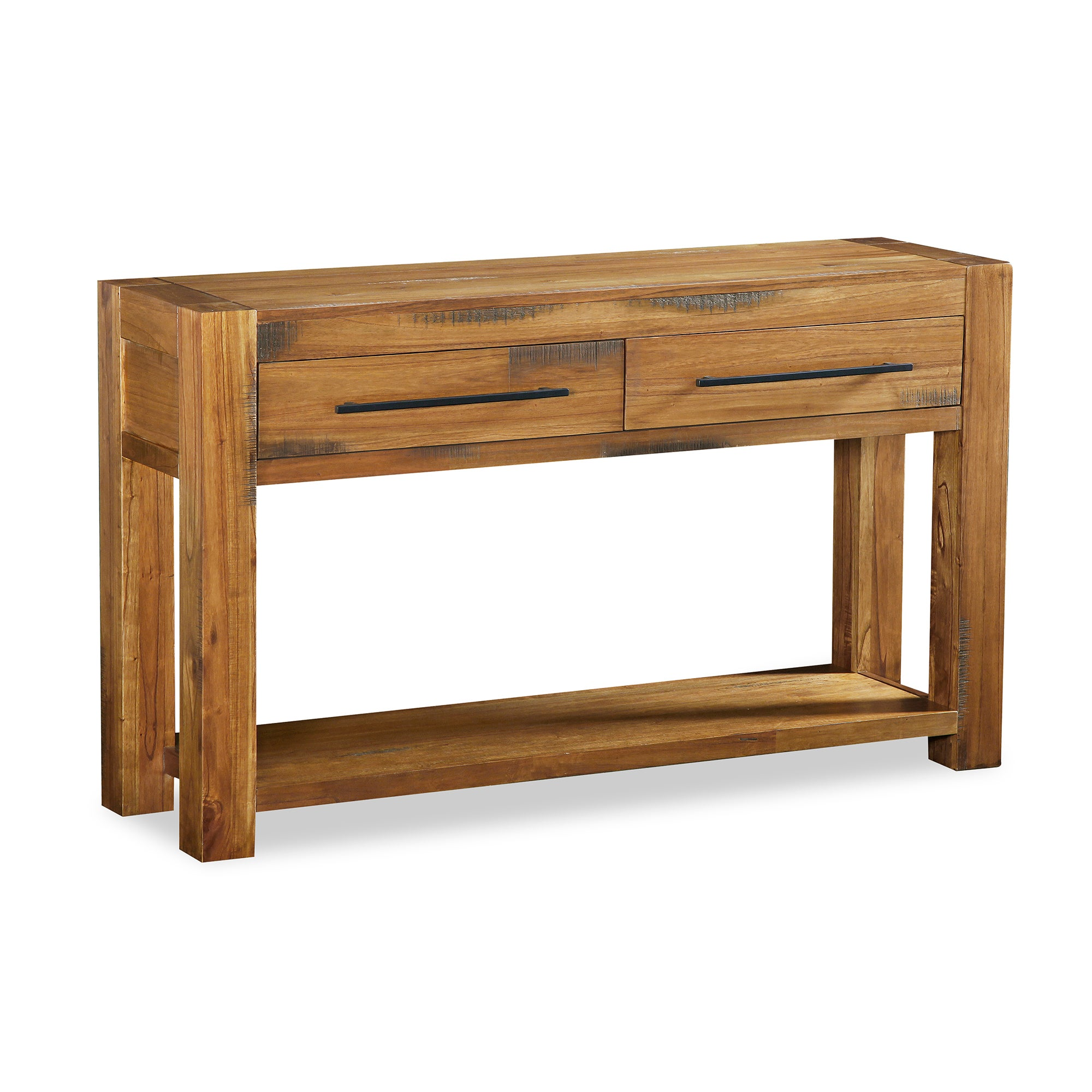 Columbia Acacia Dark Wood Living Furniture Collection