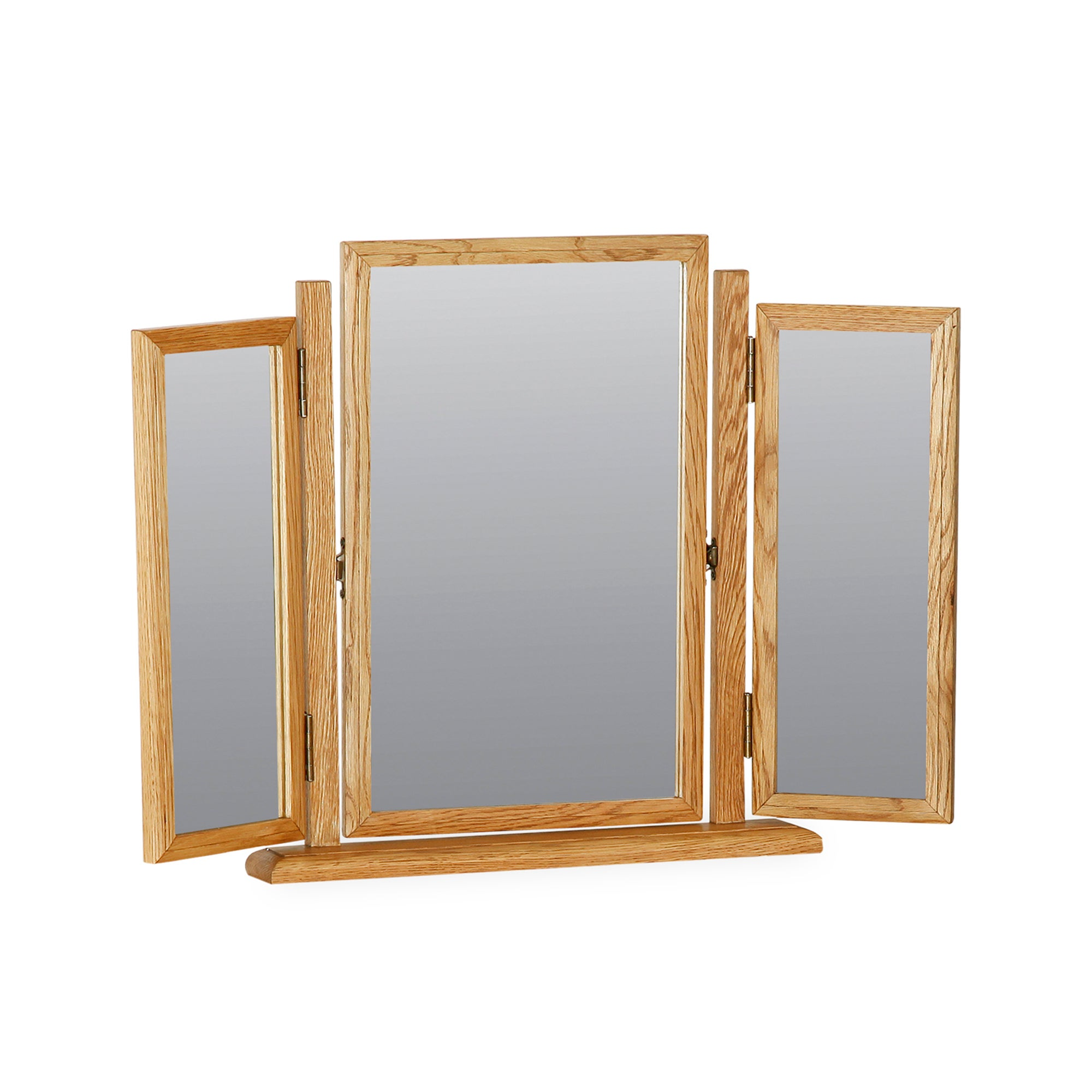 Gainsborough Oak Triple Mirror