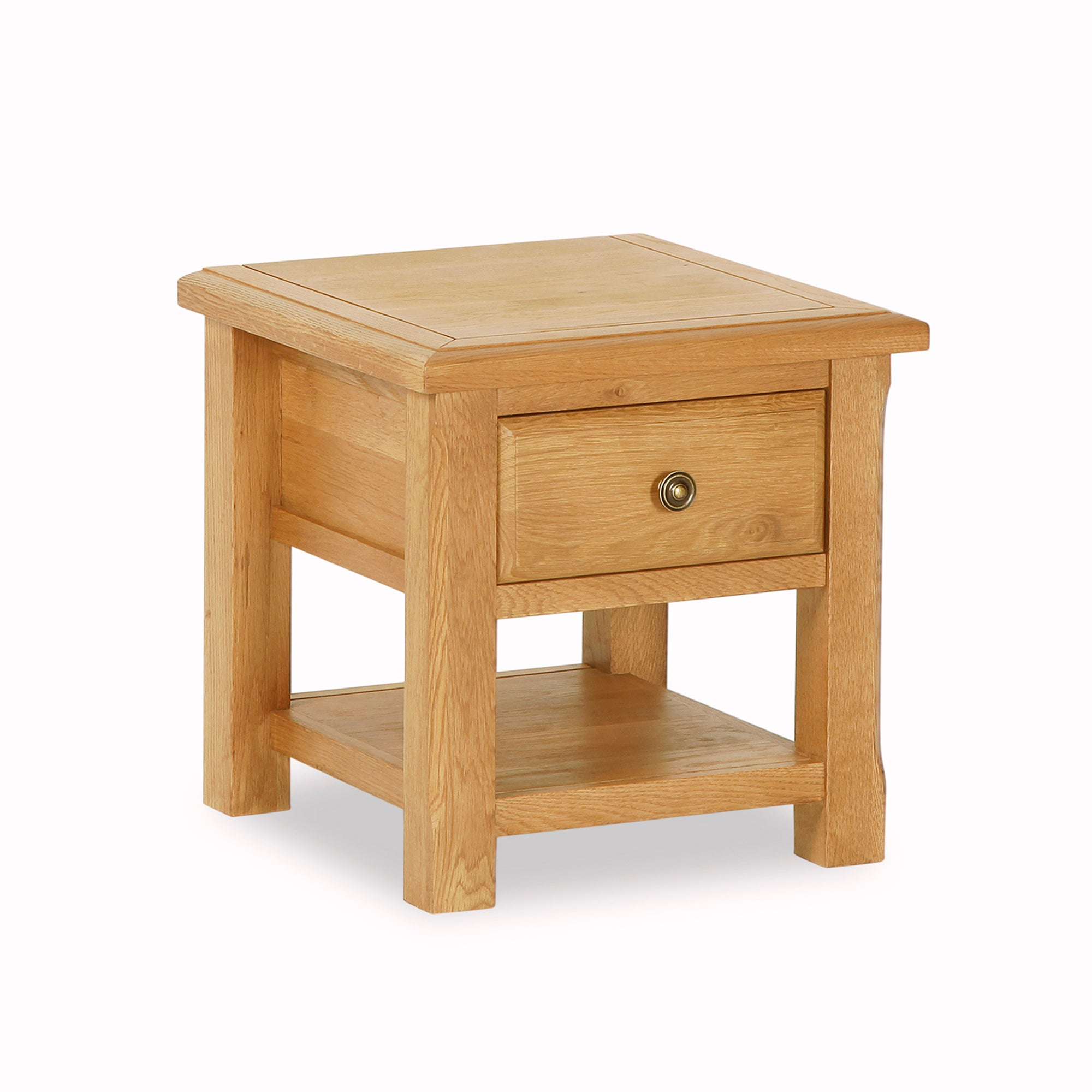 Gainsborough Oak Lamp Table