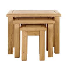 Gainsborough Oak Nest of Tables