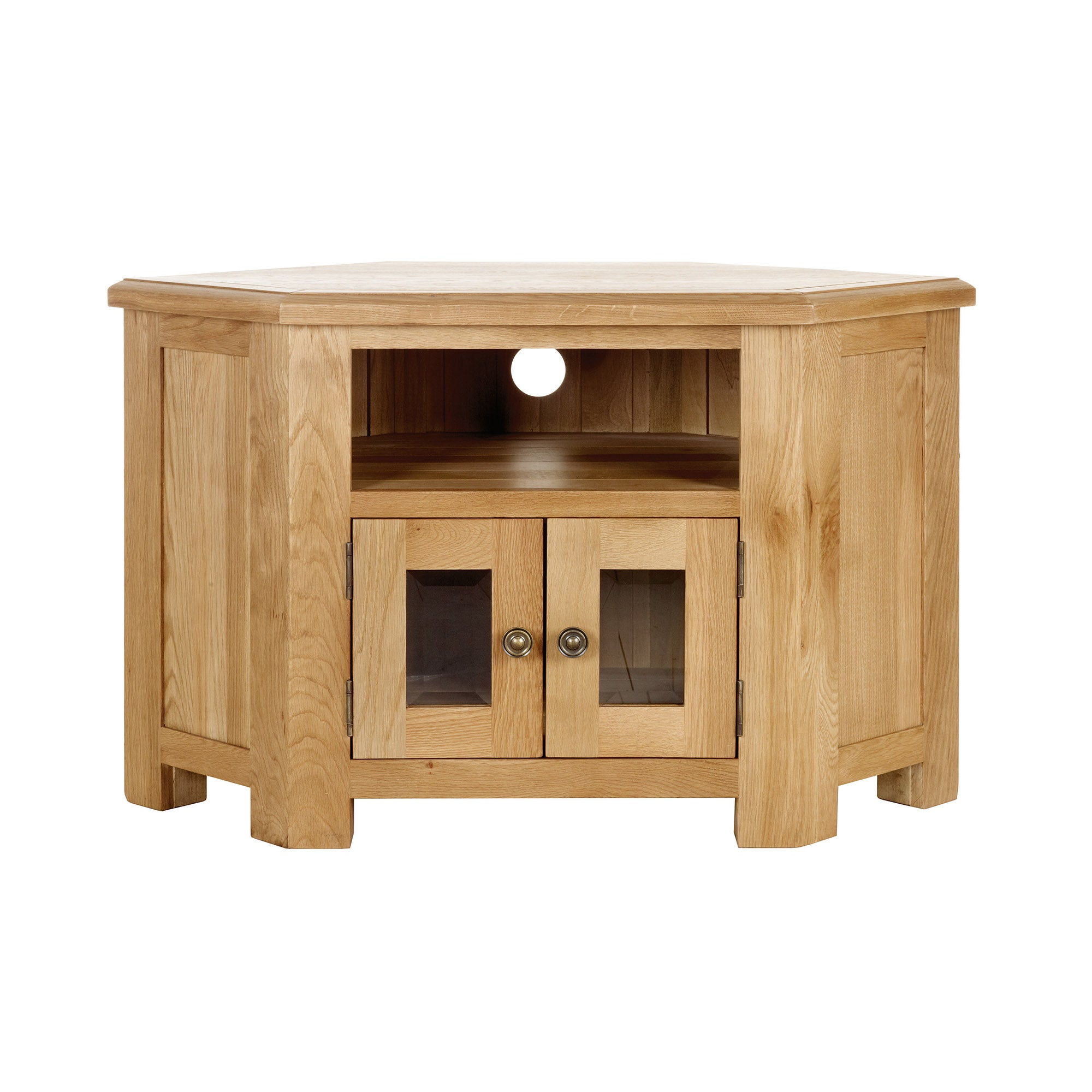 Gainsborough Oak Corner TV Unit