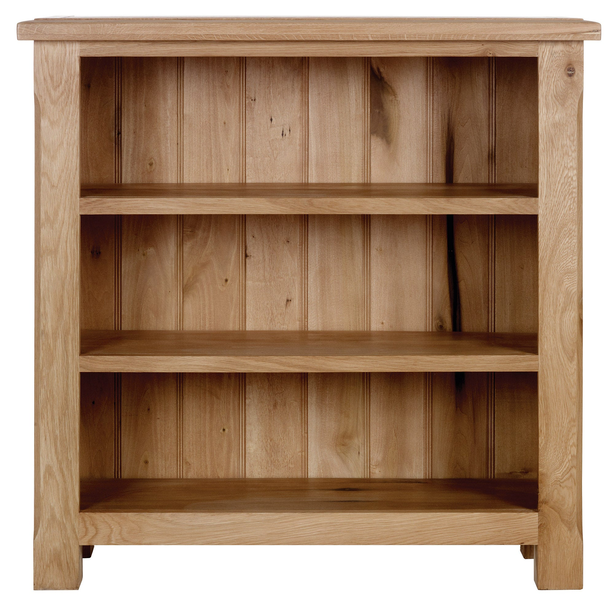 Gainsborough Oak Low Bookcase