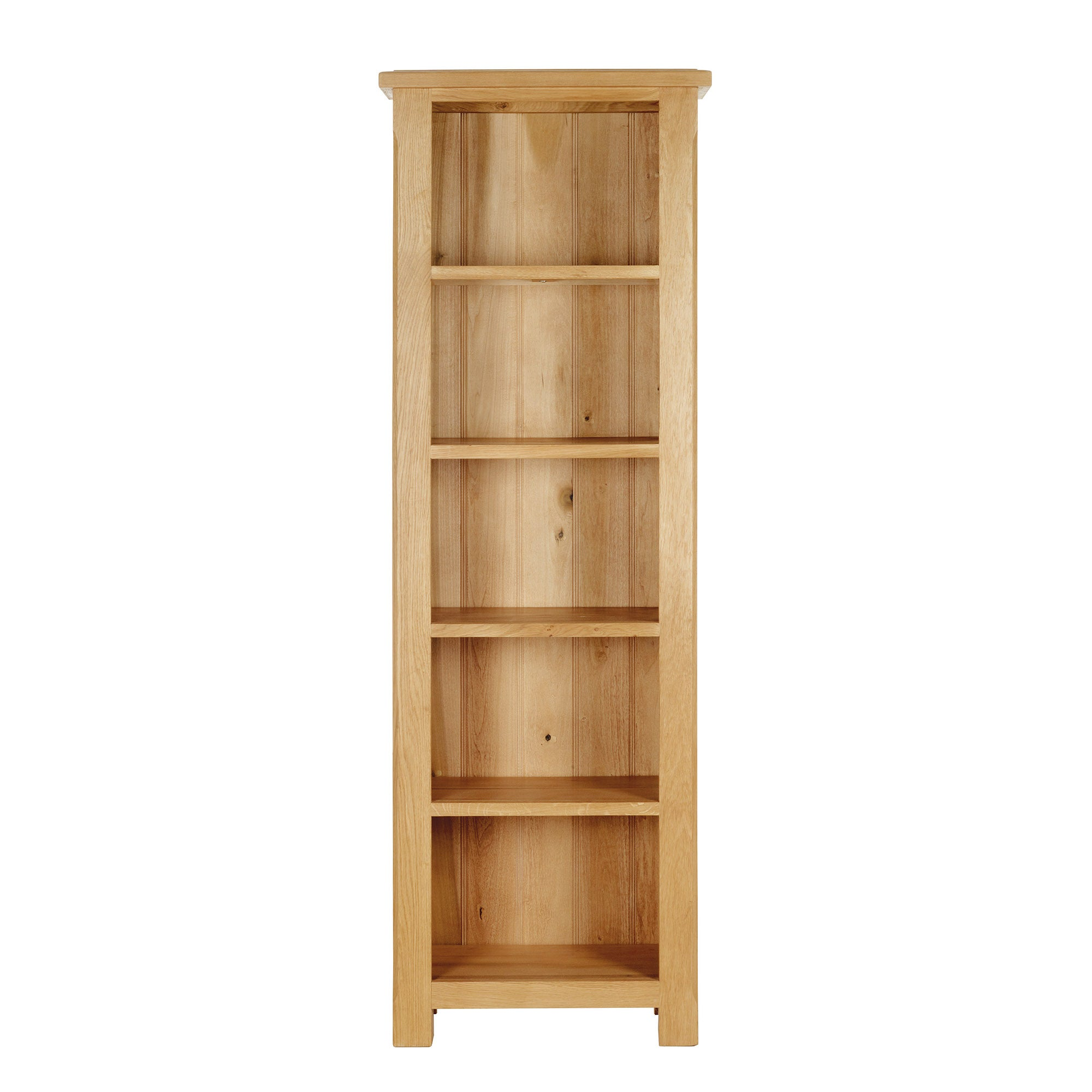Gainsborough Oak Slim Bookcase