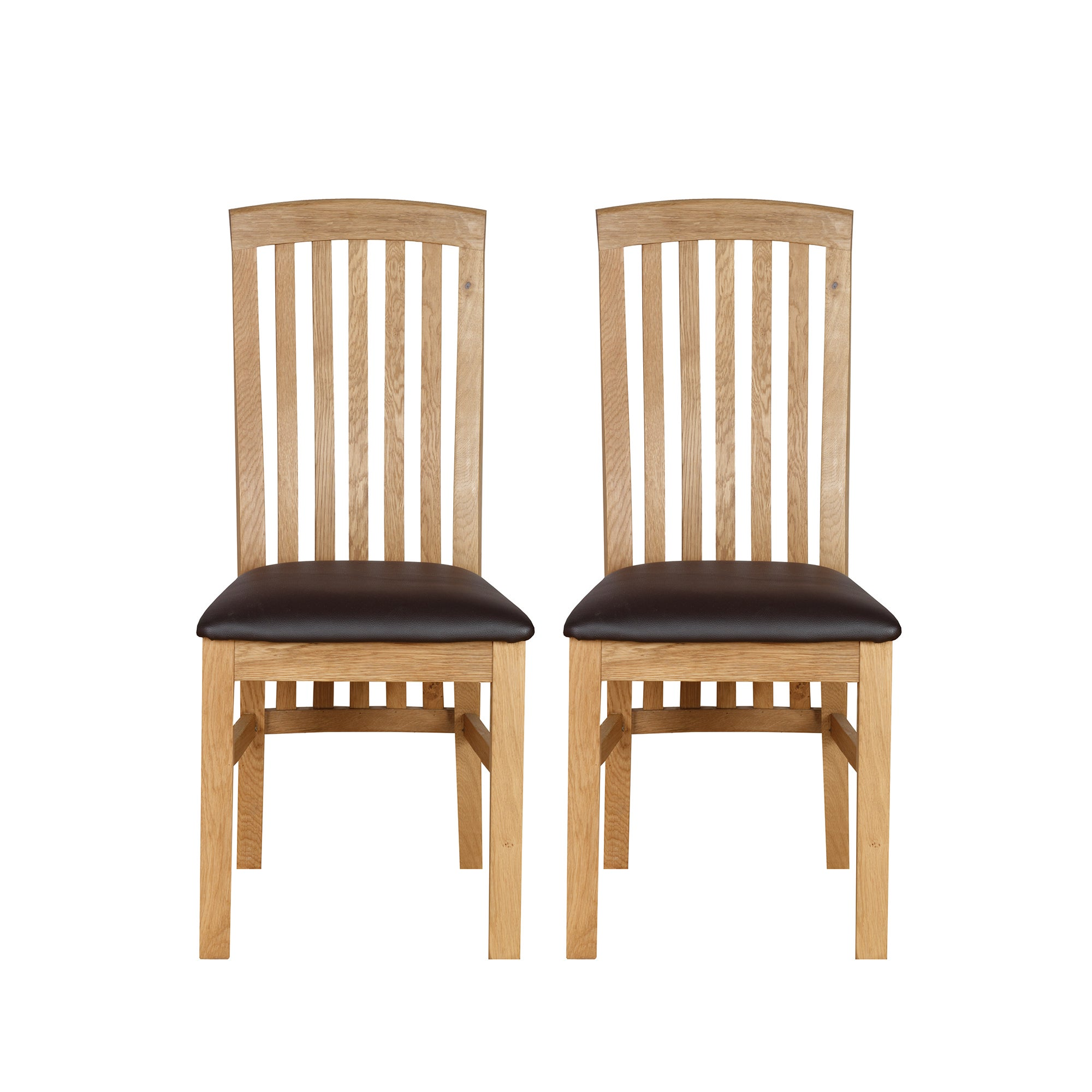 Gainsborough Pair of  Oak Dining Chairs