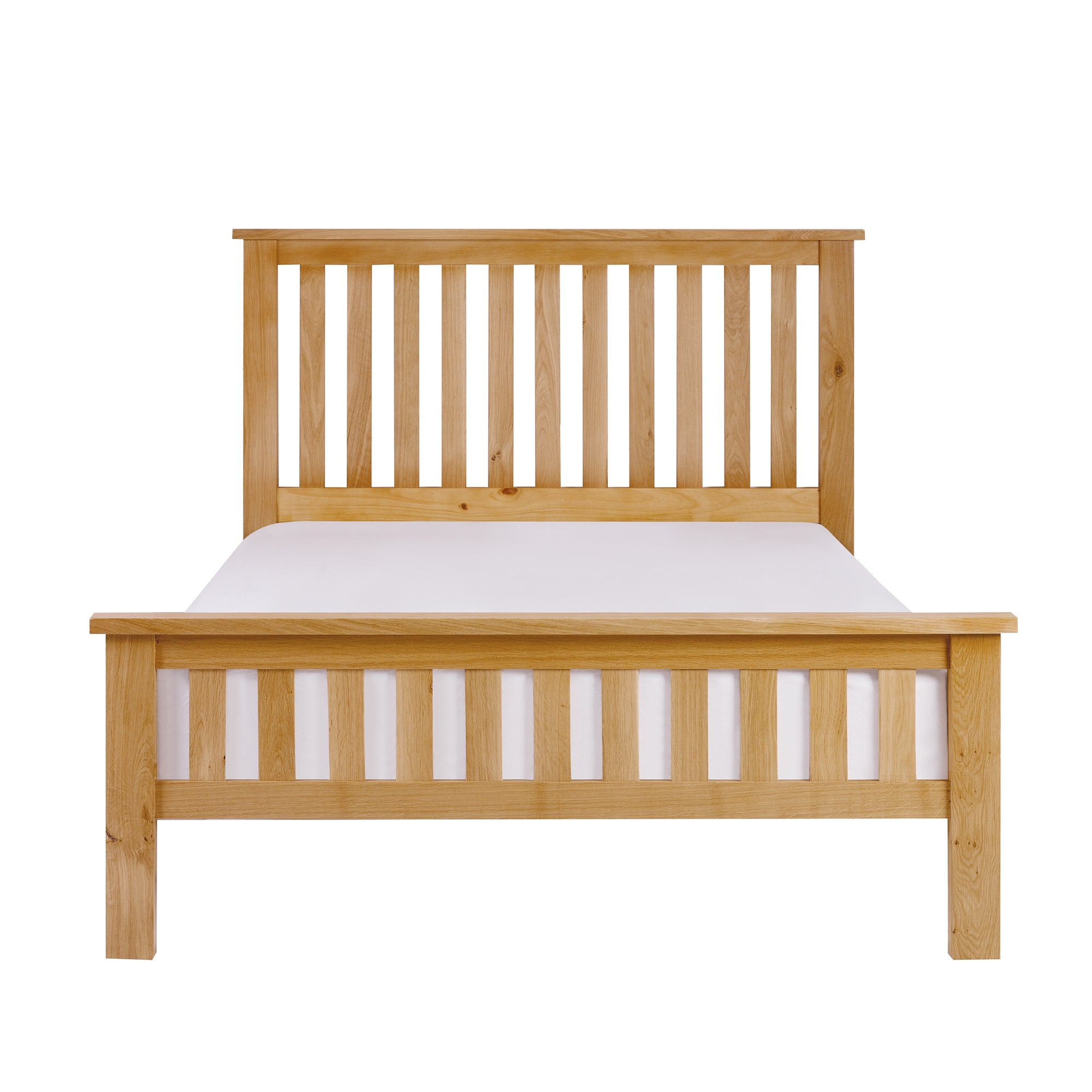 Hampshire Oak Slatted Bedstead