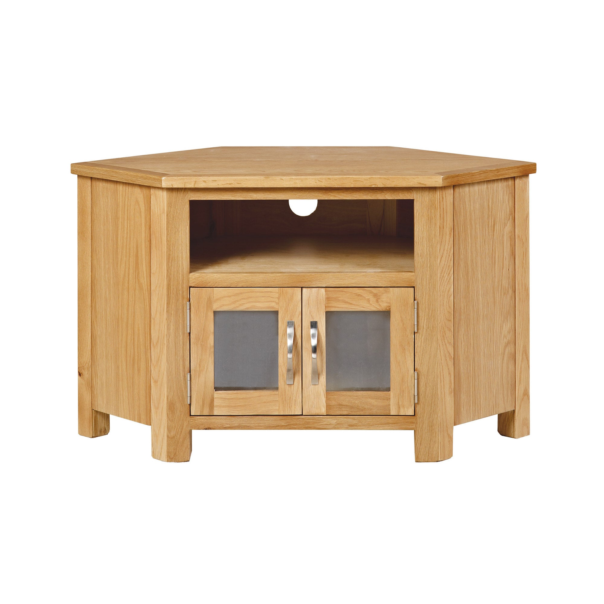 Hampshire Oak TV Corner Unit