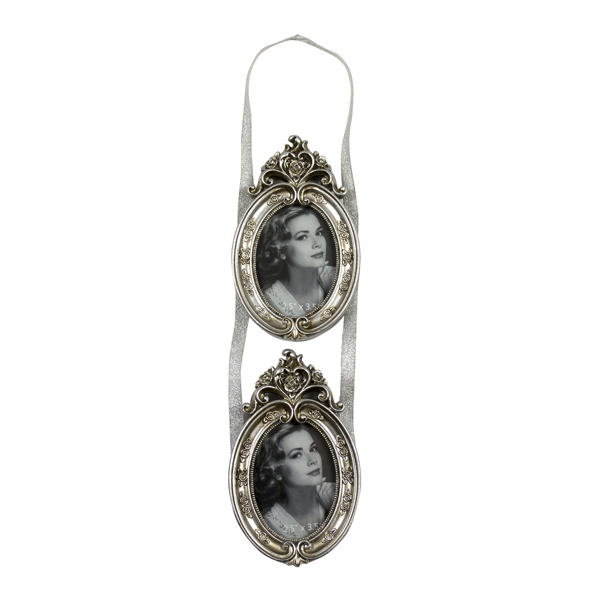 Nouveau Collection Hanging Oval Photo Frame