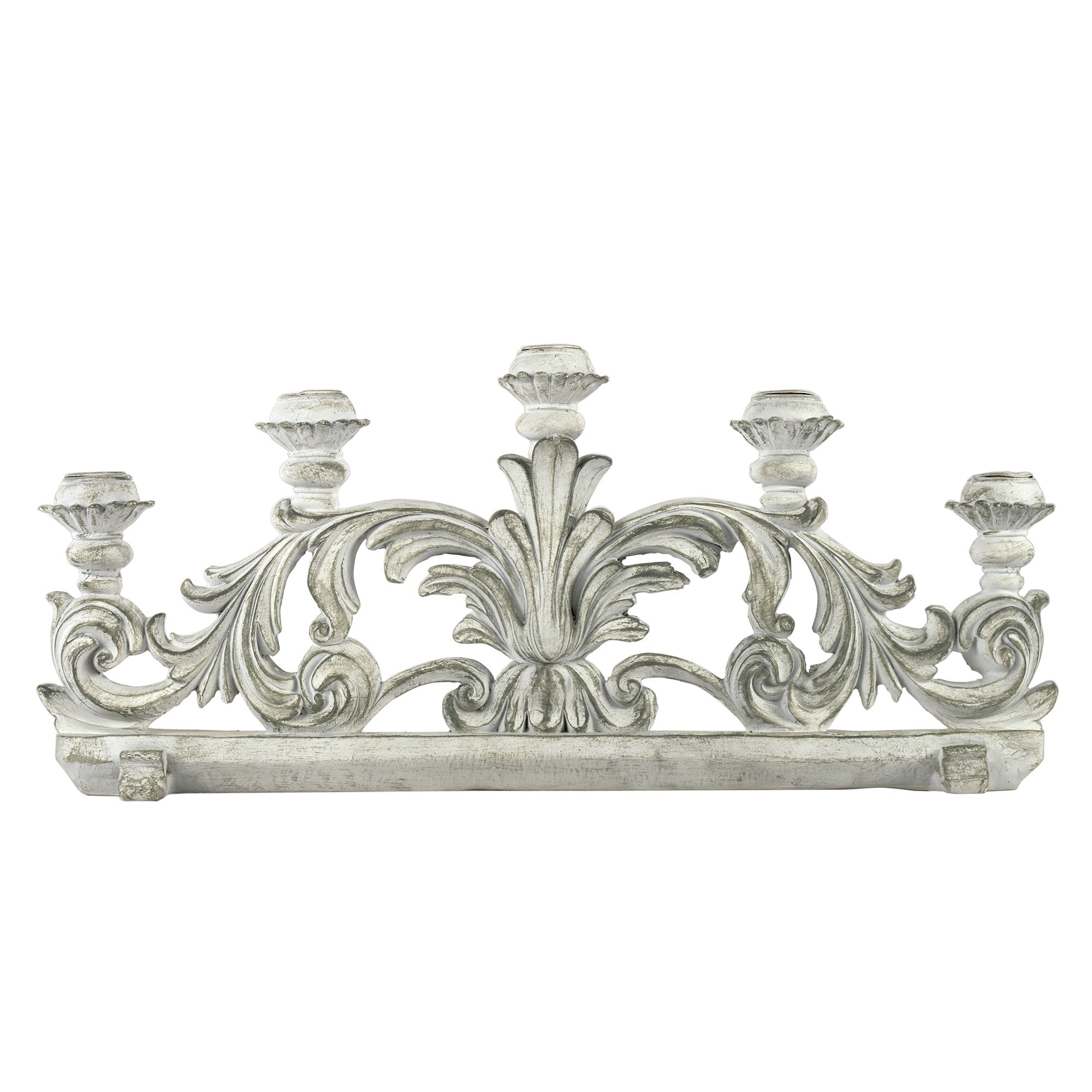 Nouveau Collection Ornate Candle Holder