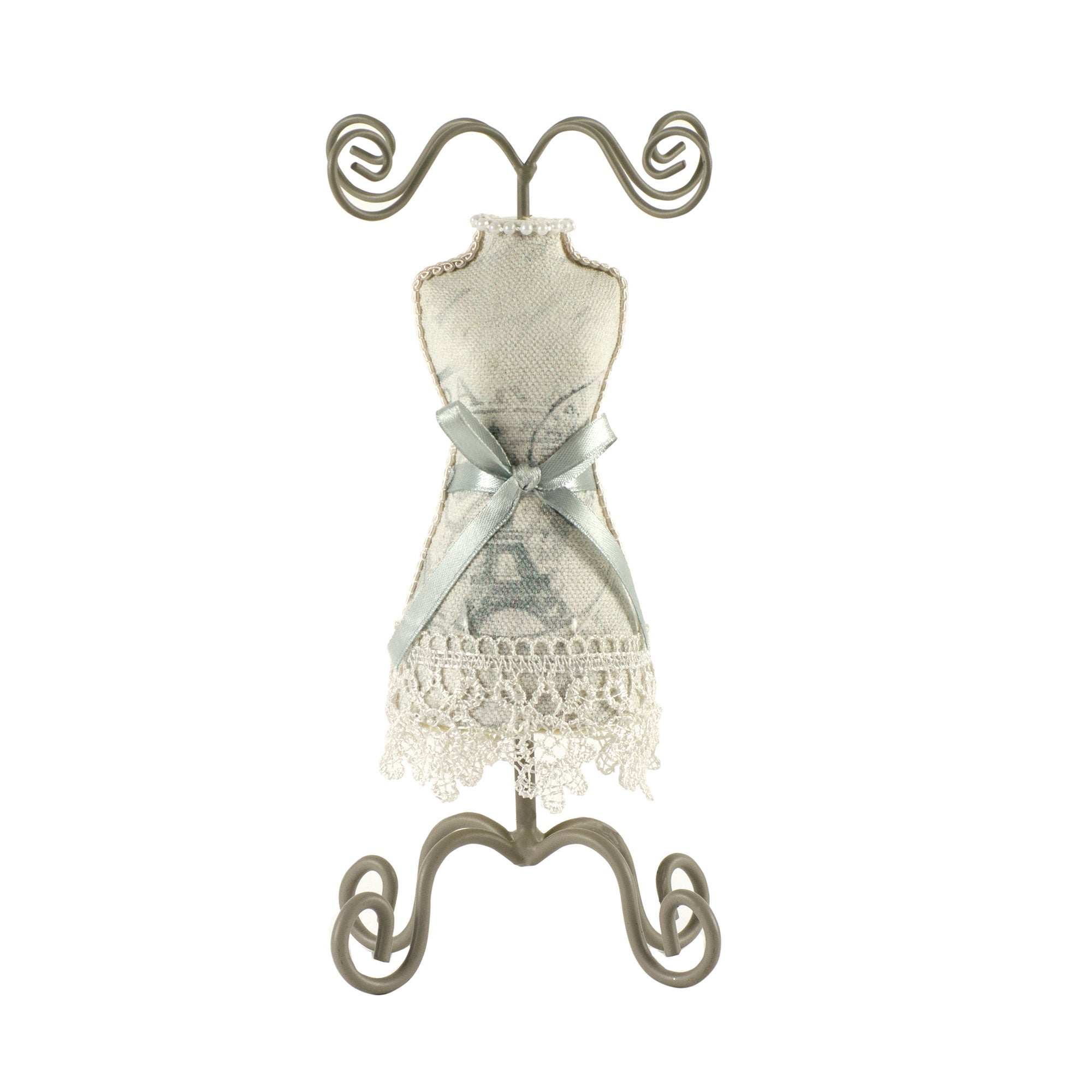 Nouveau Collection French Script Jewellery Stand