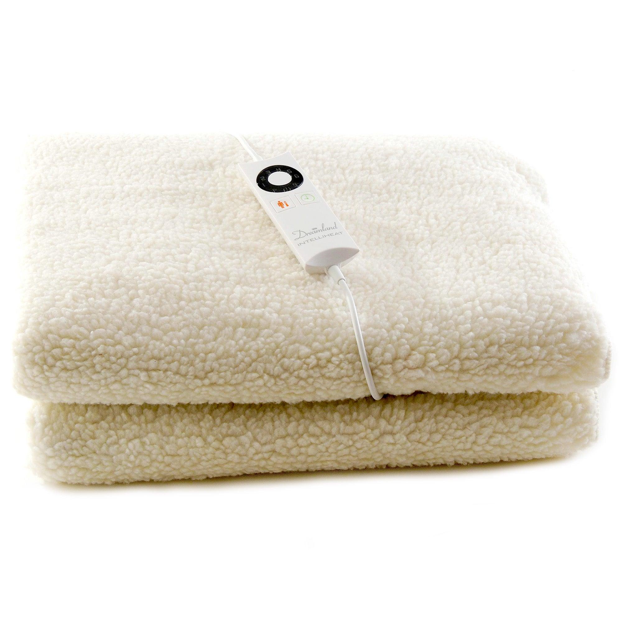 dreamland intelliheat electric blanket with control dunelm. Black Bedroom Furniture Sets. Home Design Ideas