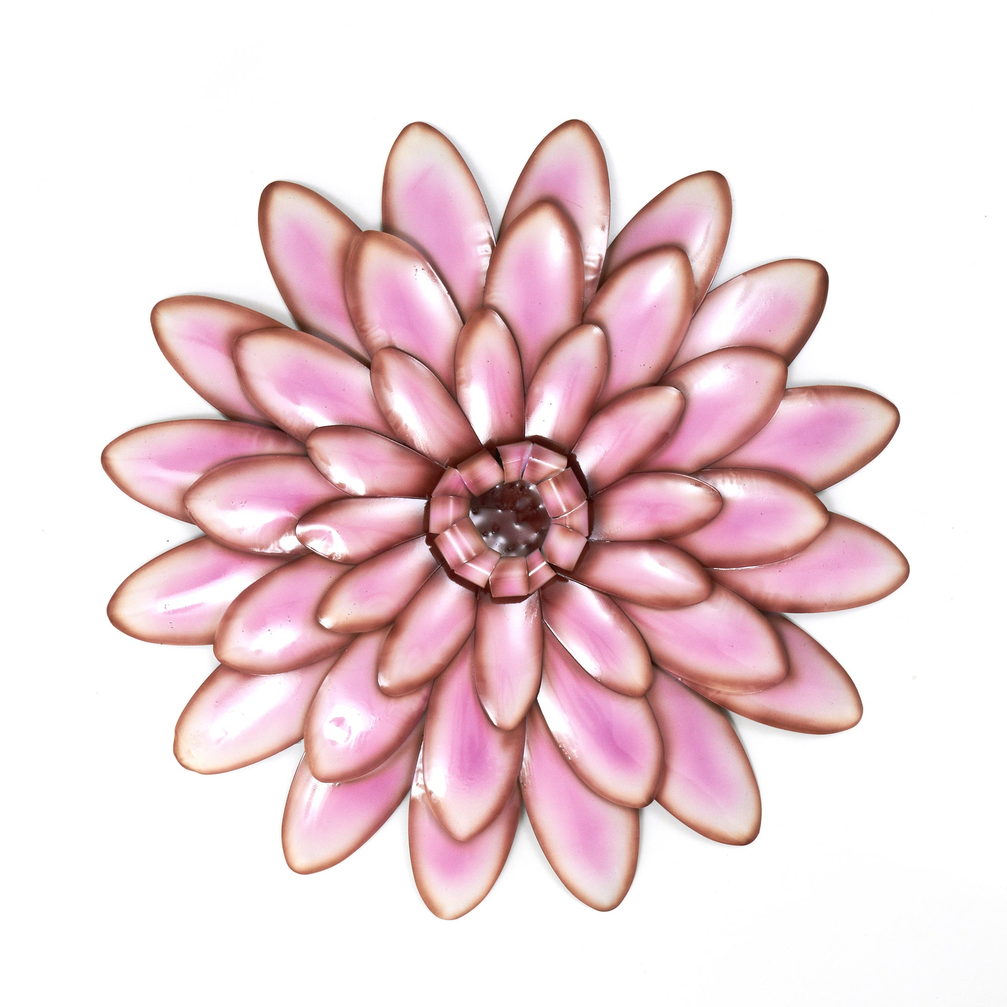 Plum Flower Head Metal Wall Art