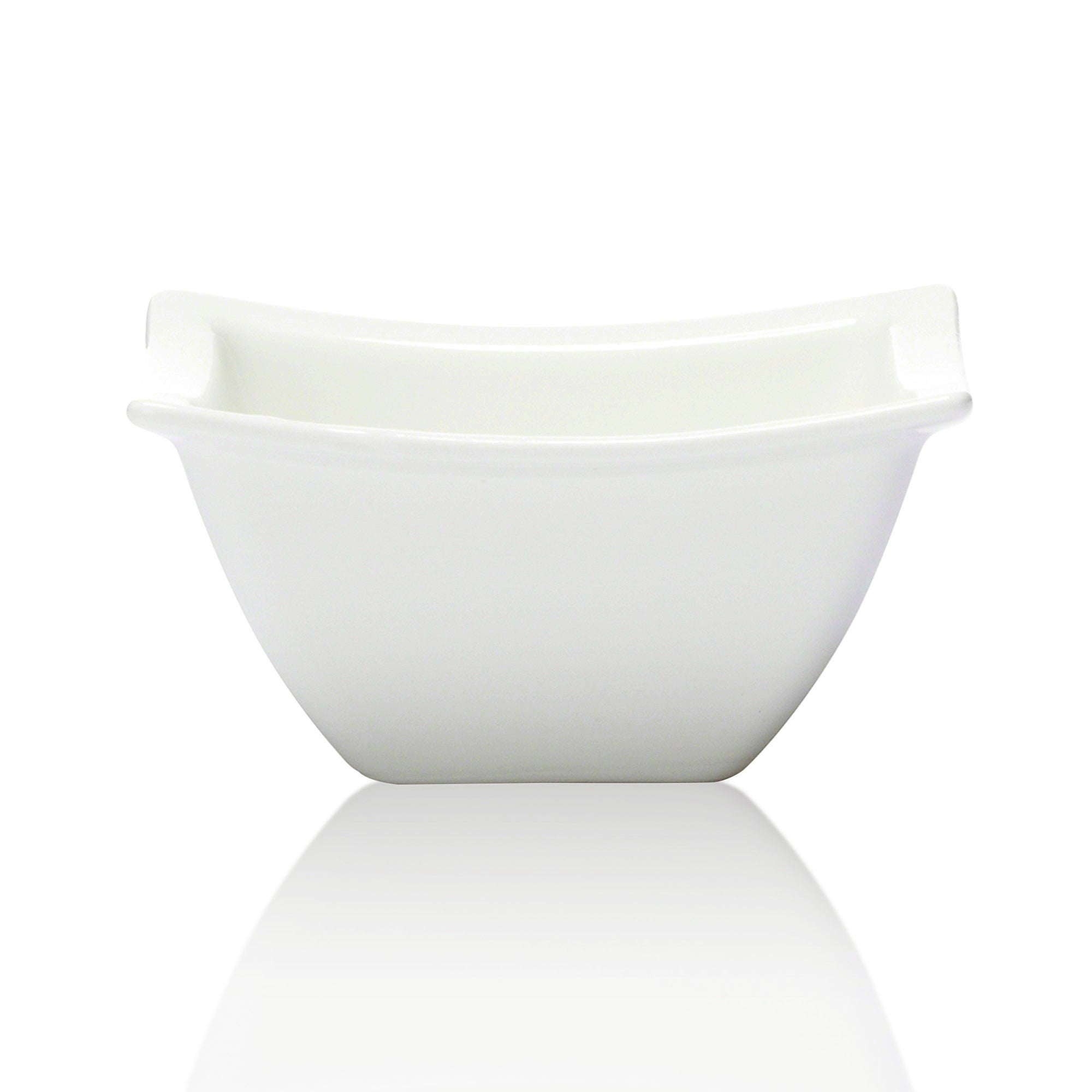 Simply Collection Rimmed Square Dip Dish