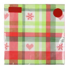 Pack of 20 Tartan Paper Napkins
