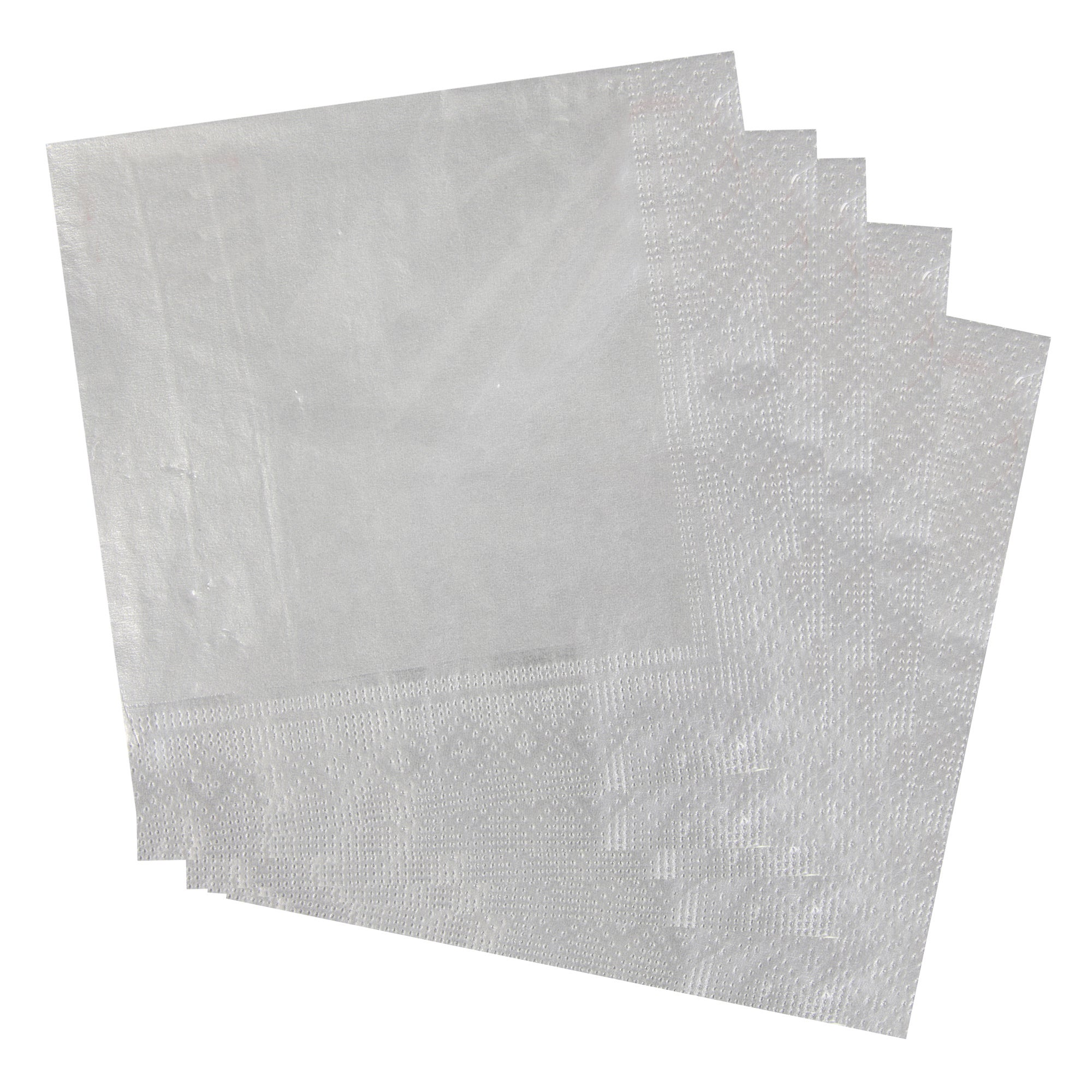 Pack of 20 Plain Paper Napkins