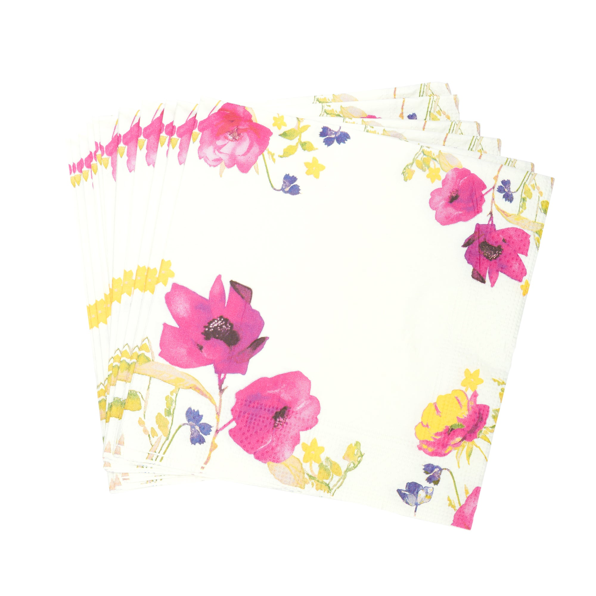 Floral Watercolour Collection Pack of 20 Paper Napkins