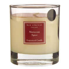 Wax Lyrical Moroccan Spice Wax Filled Glass