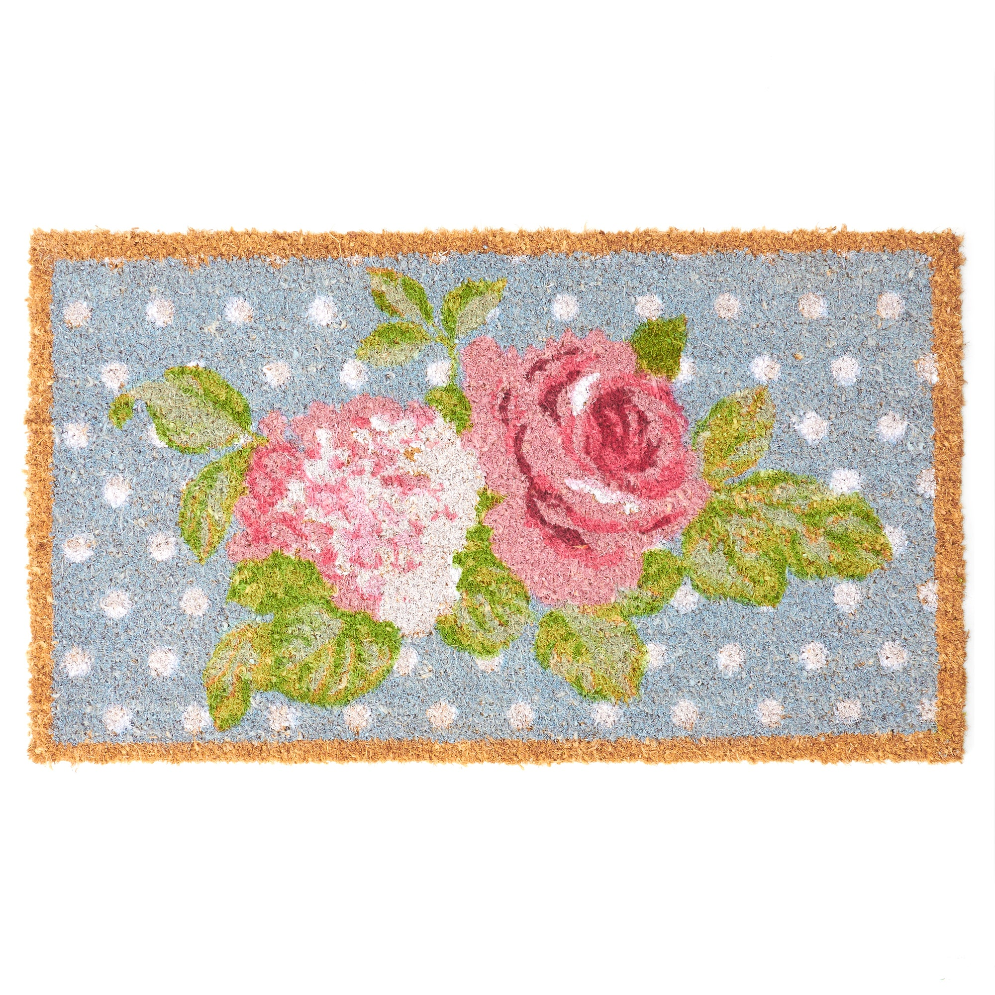 Rose and Ellis Clarendon Collection Coir Doormat
