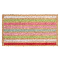 Rose and Ellis Allexton Collection Stripes Coir Doormat