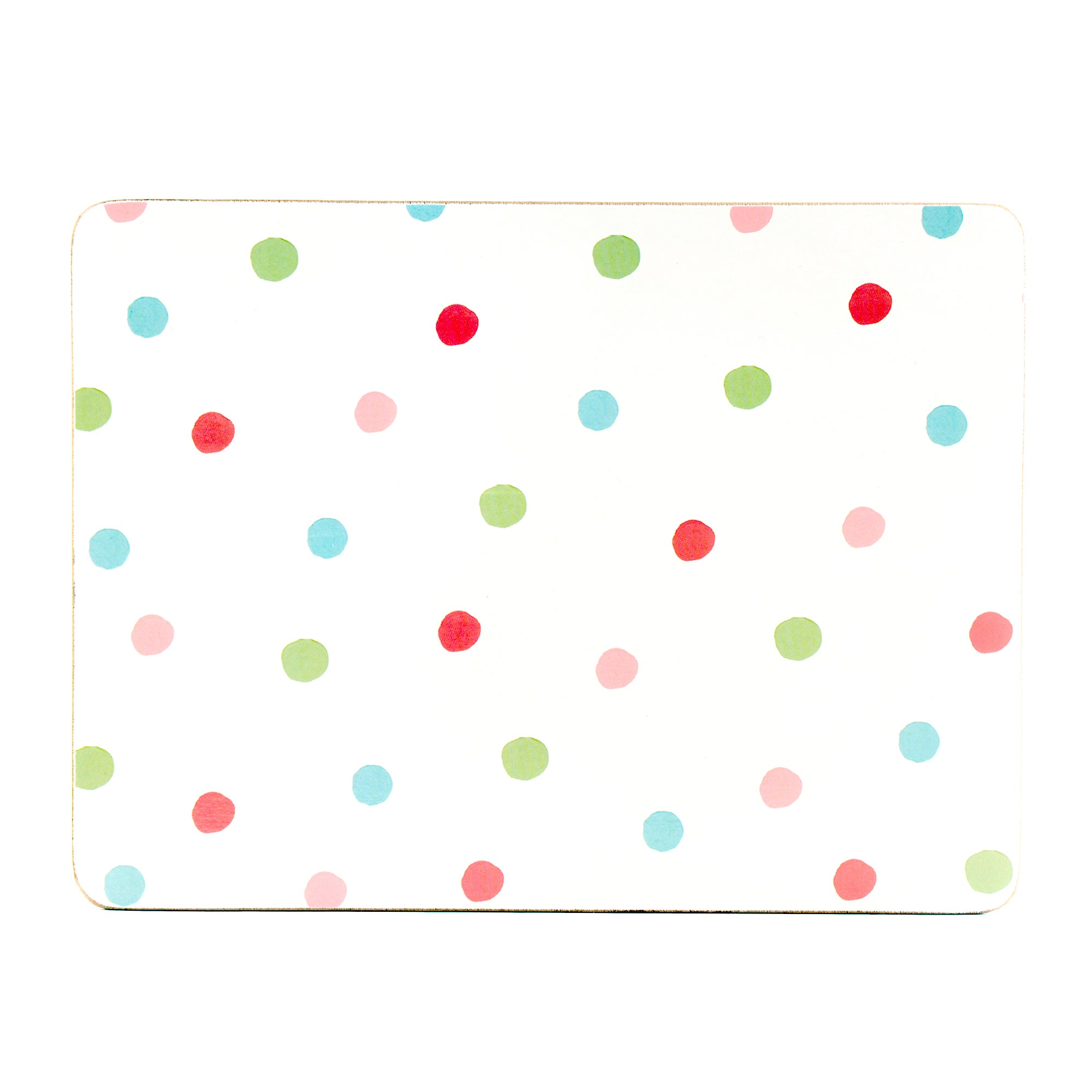 Candy Country Spot Collection Set of 4 Placemats