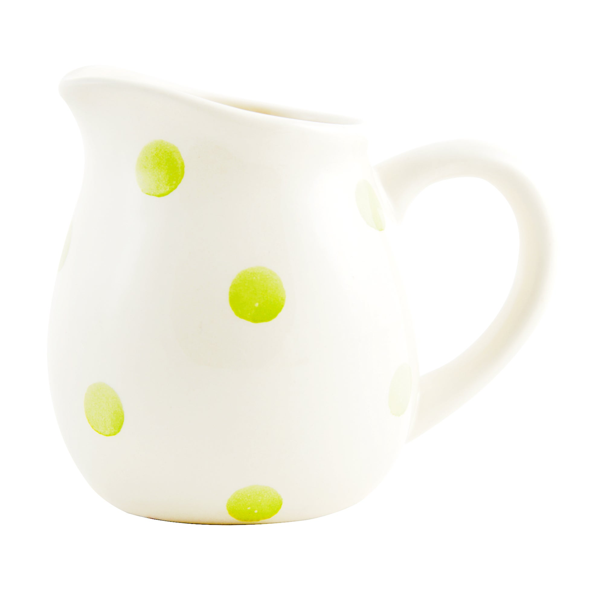 Sage Country Spot Collection Creamer