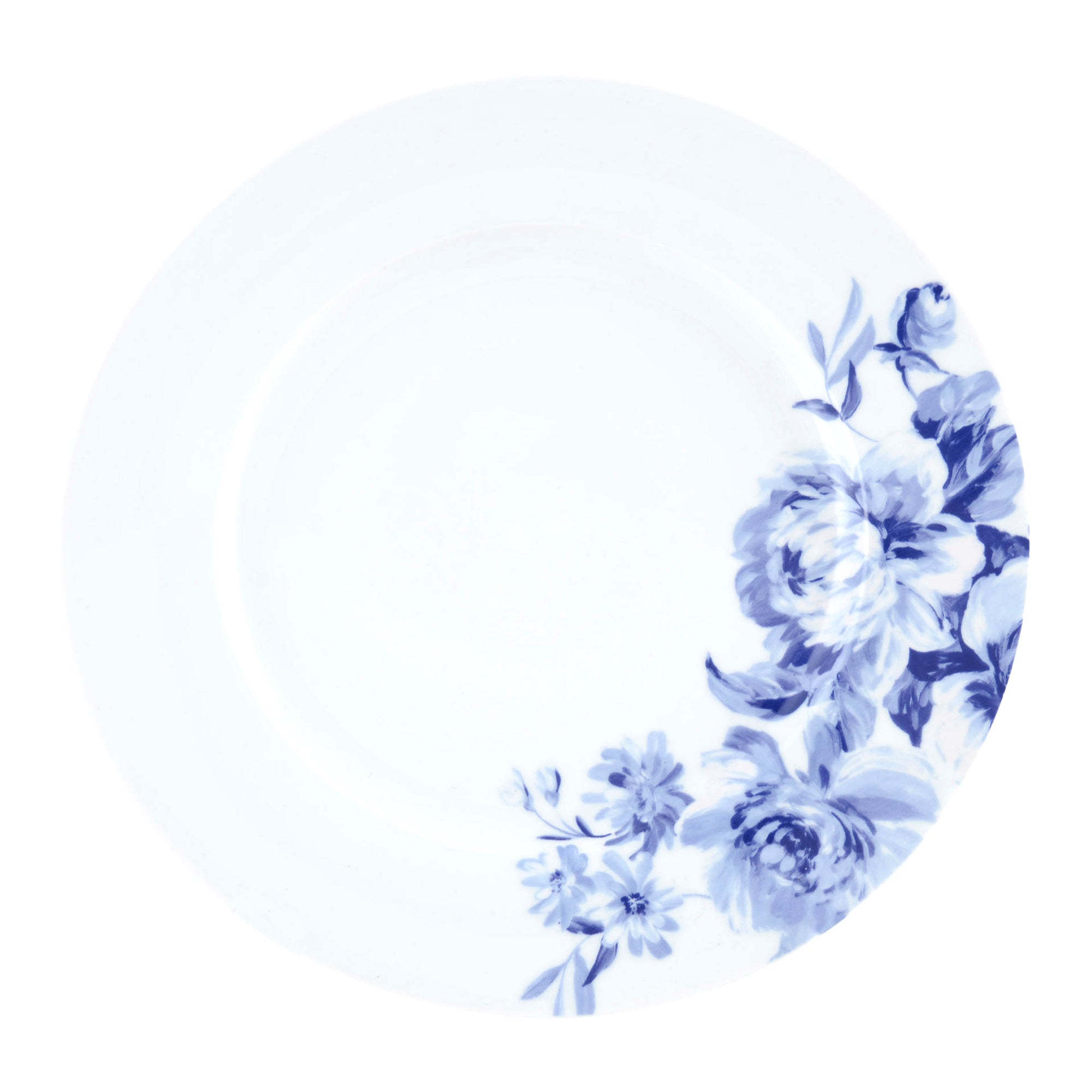 Blue Inky Collection Dinner Plate